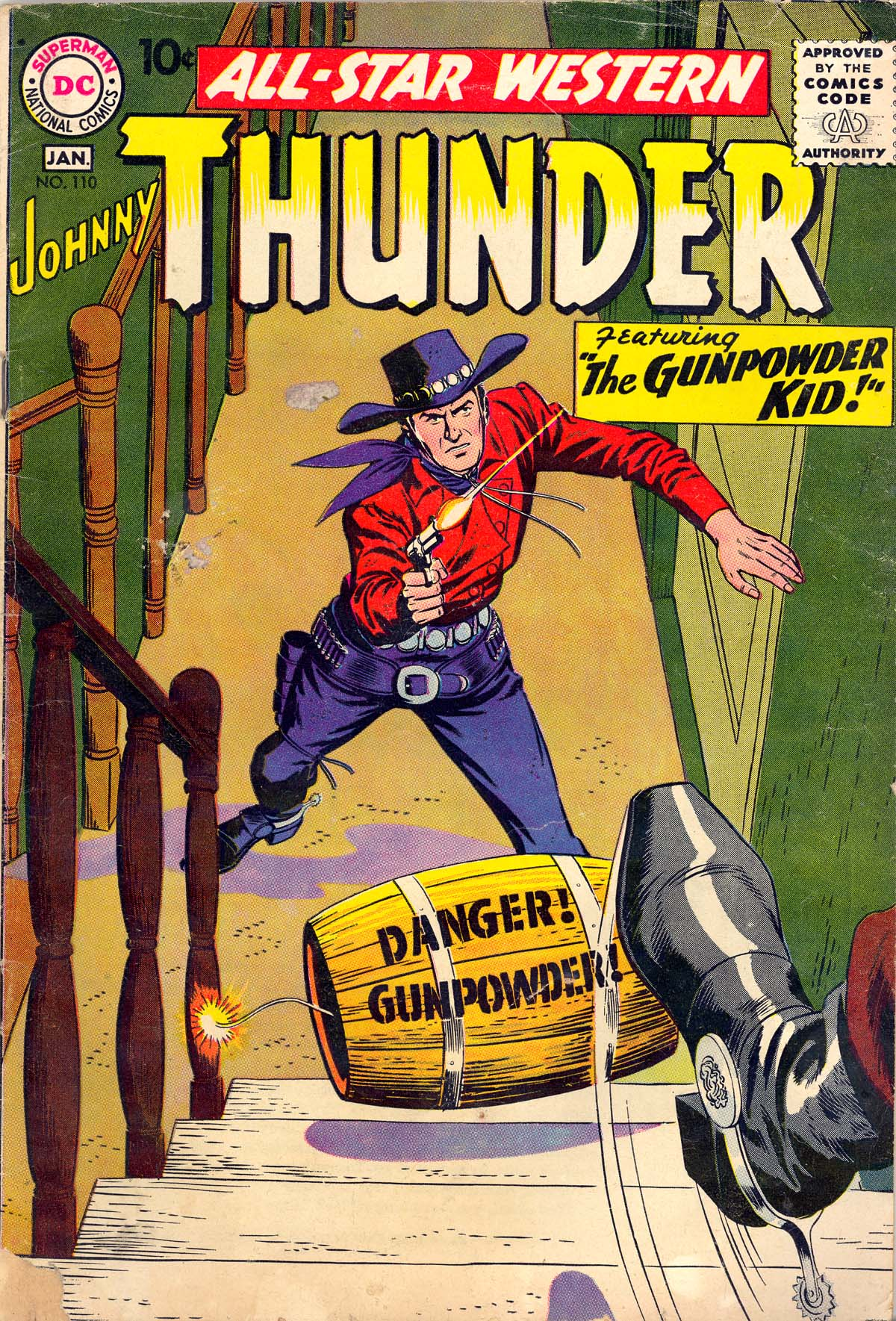 Read online All-Star Western (1951) comic -  Issue #110 - 1