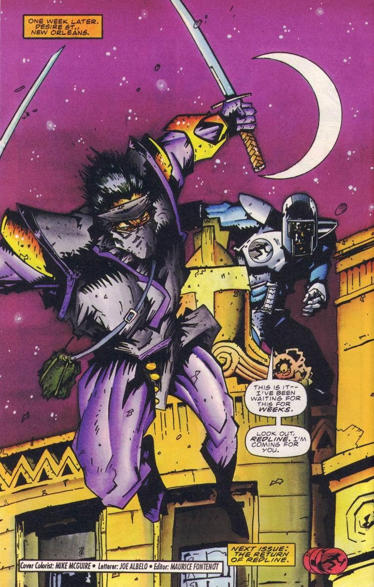 Read online Secret Weapons comic -  Issue #18 - 22
