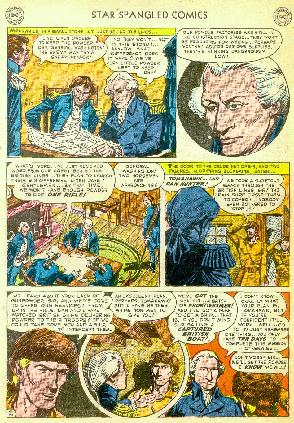 Star Spangled Comics (1941) issue 123 - Page 33