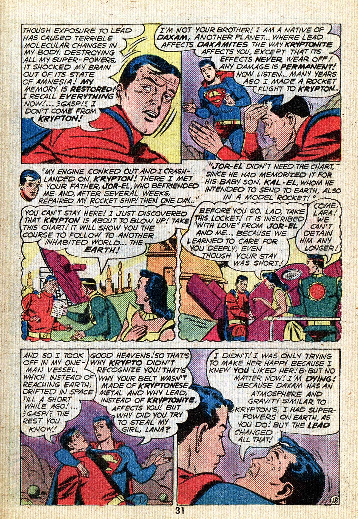 Read online Adventure Comics (1938) comic -  Issue #494 - 31