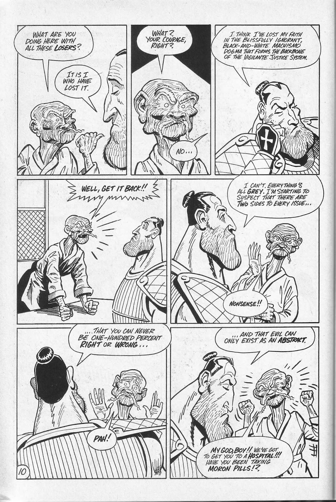 Read online Paul the Samurai (1991) comic -  Issue # TPB - 76