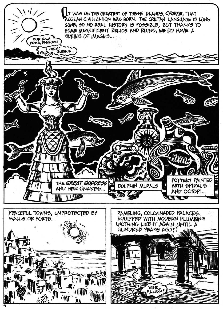 Read online The Cartoon History of the Universe comic -  Issue #5 - 6
