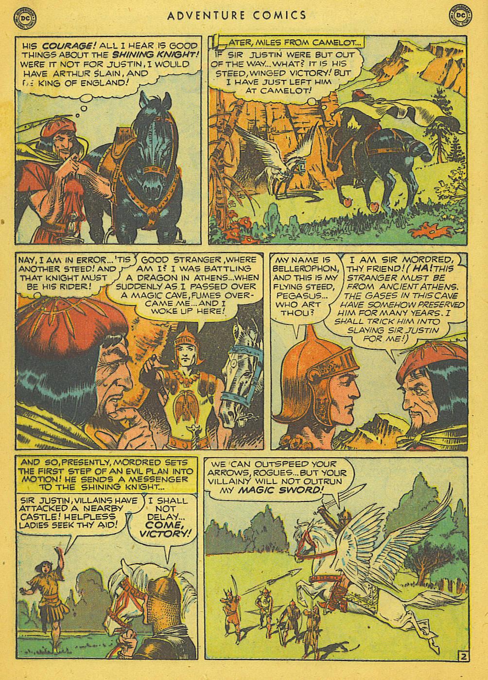 Read online Adventure Comics (1938) comic -  Issue #153 - 17