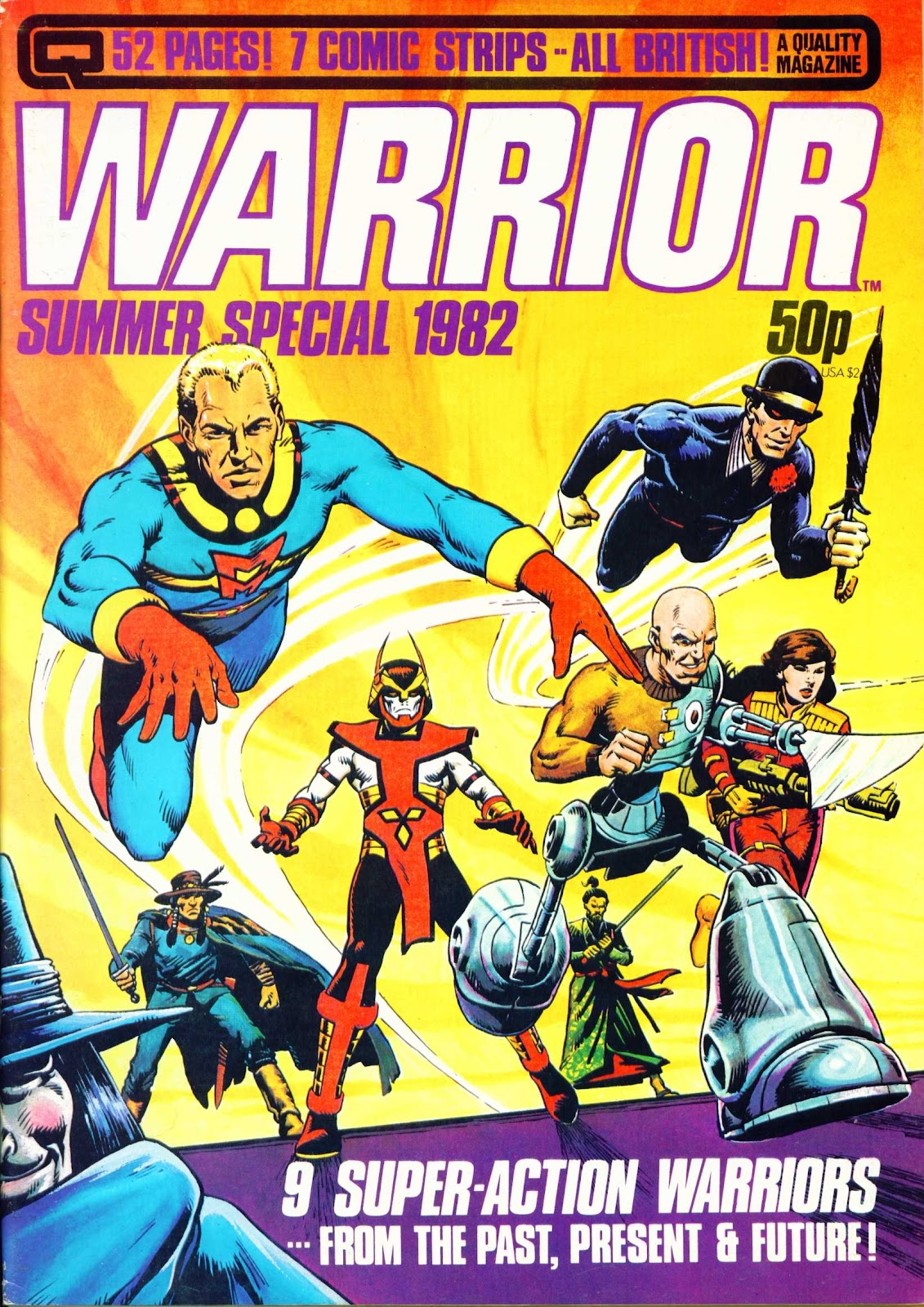 Warrior (1982) issue 4 - Page 1