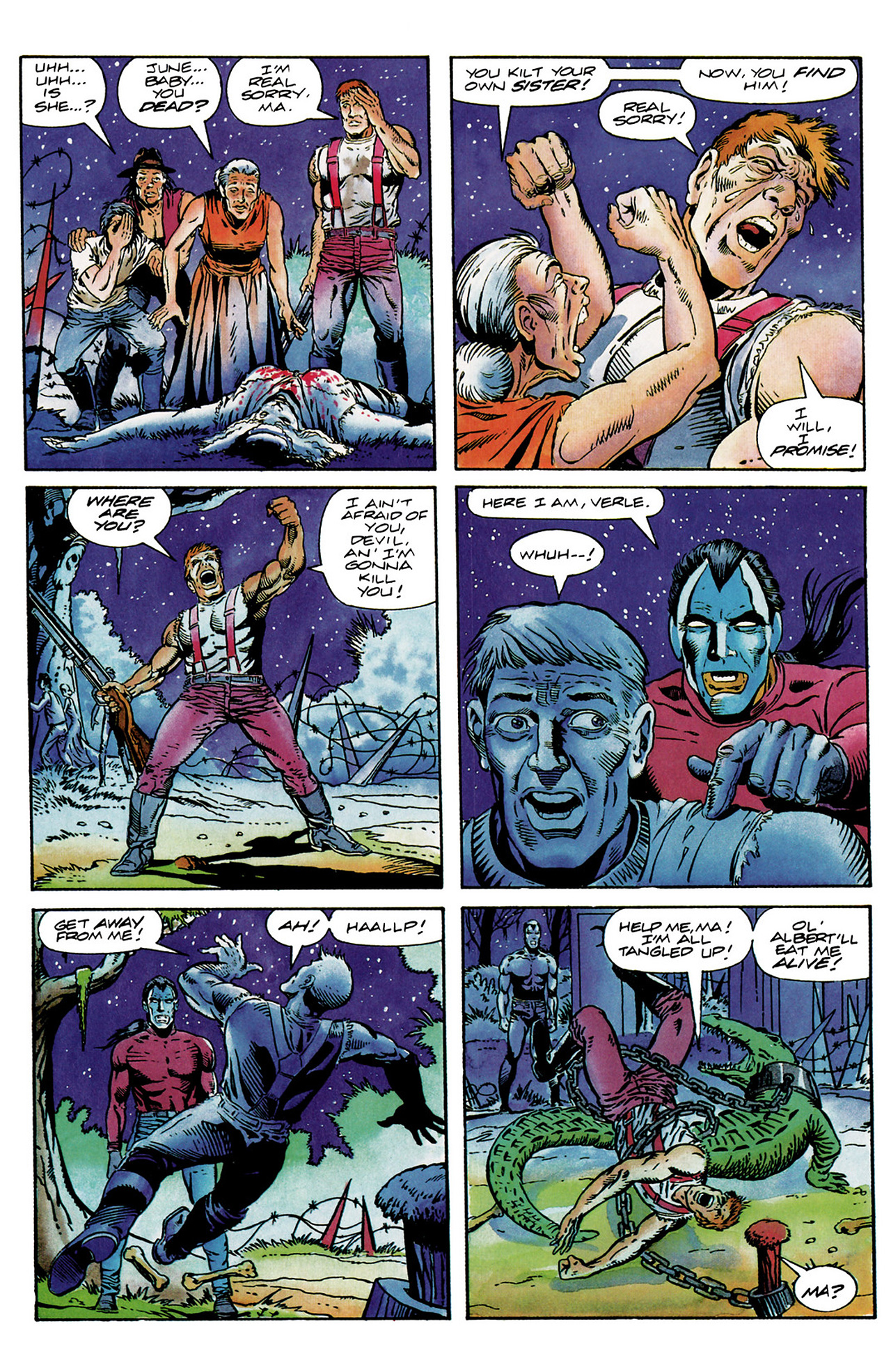 Read online Shadowman (1992) comic -  Issue #6 - 21