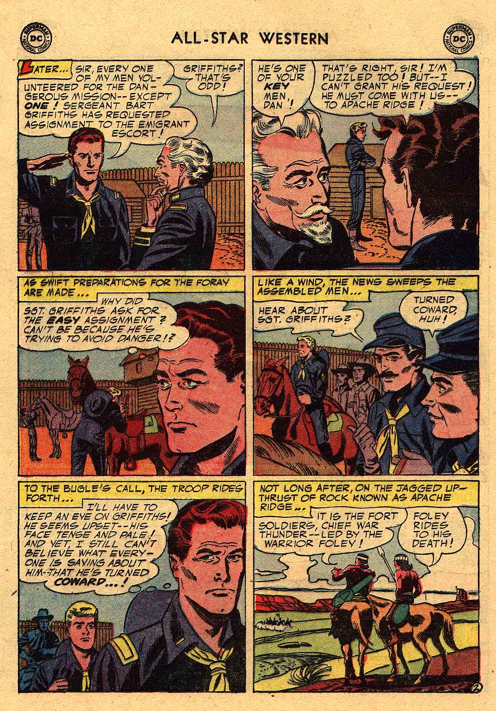 Read online All-Star Western (1951) comic -  Issue #80 - 20