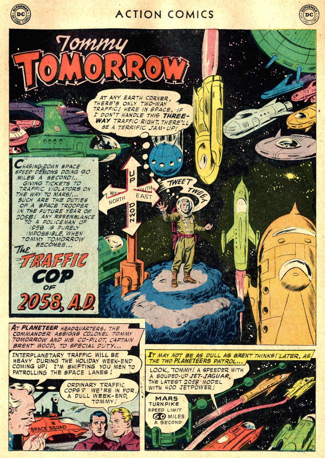 Read online Action Comics (1938) comic -  Issue #242 - 18
