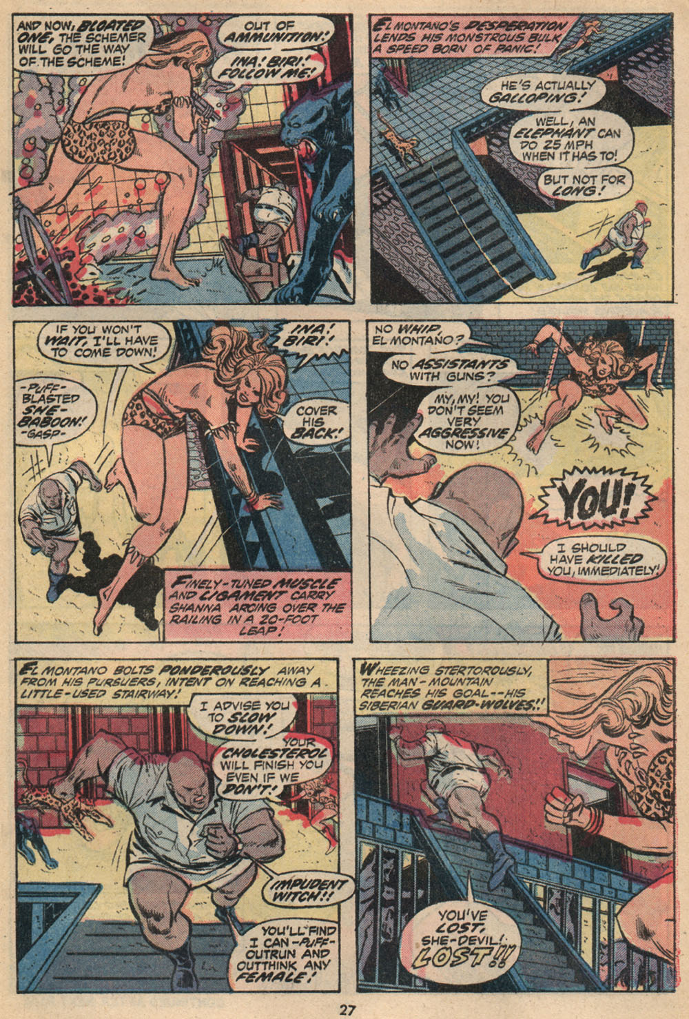Read online Shanna, the She-Devil (1972) comic -  Issue #2 - 18