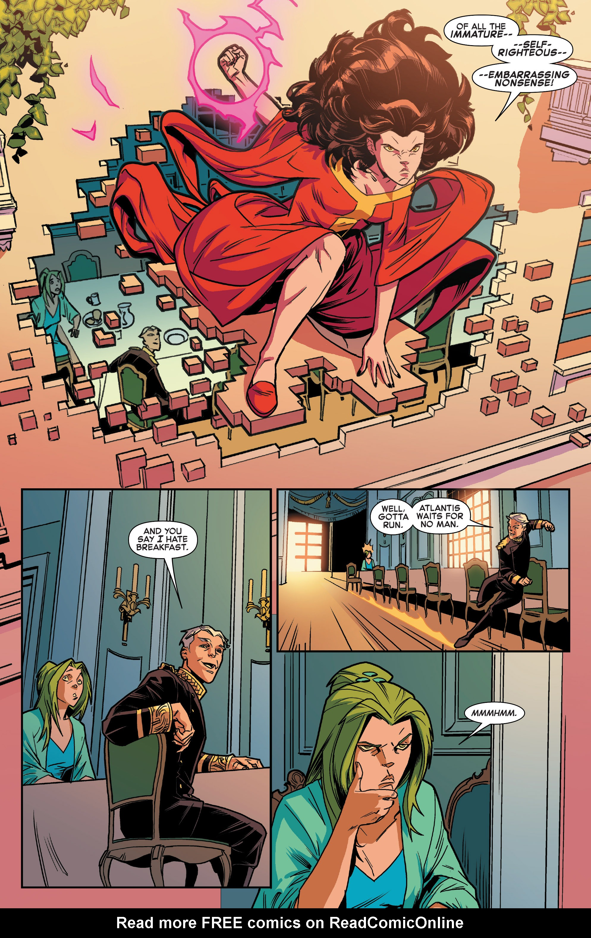 Read online House of M (2015) comic -  Issue #1 - 13