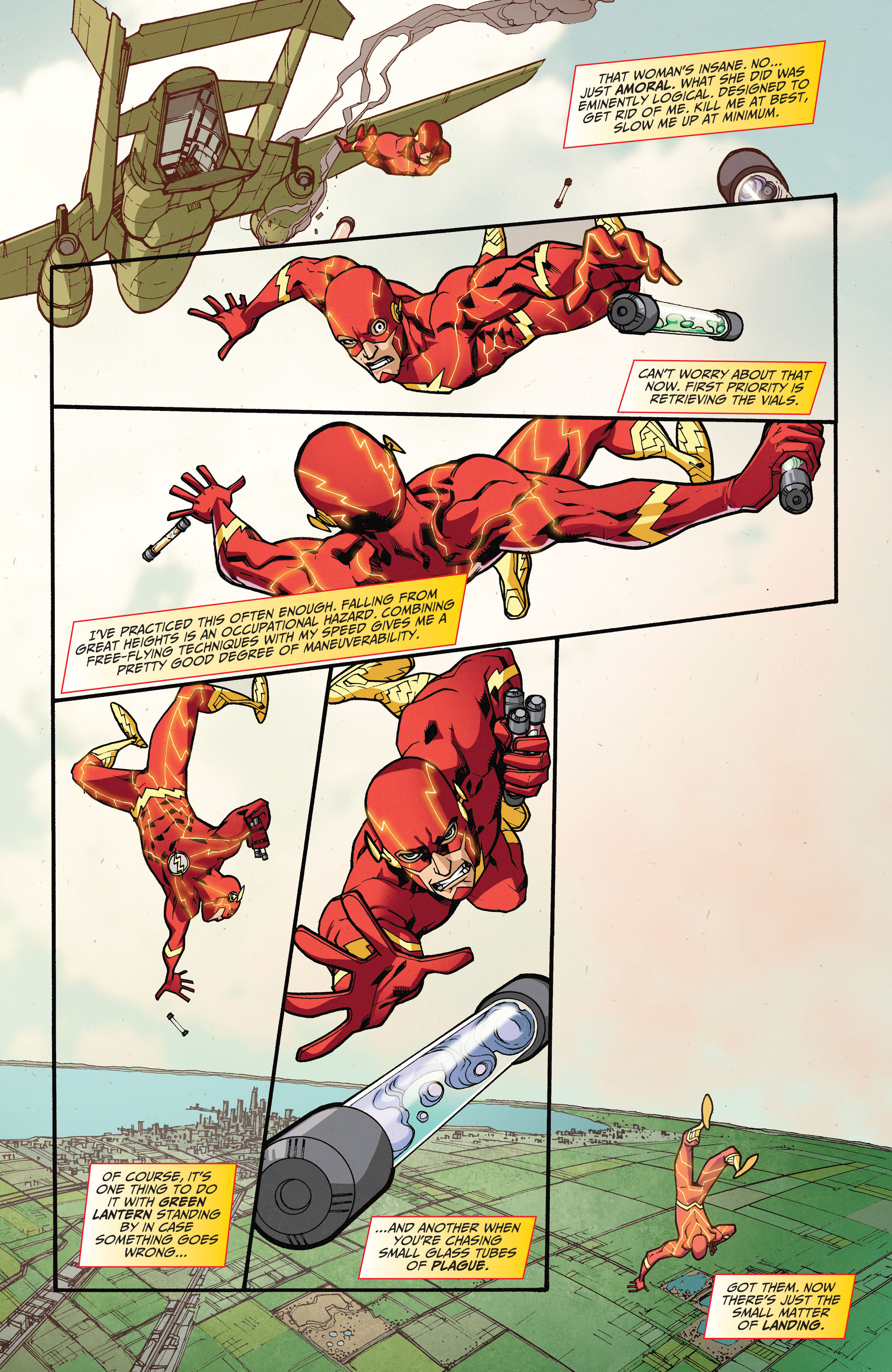 Read online The Flash (2011) comic -  Issue # _TPB 5 - 57
