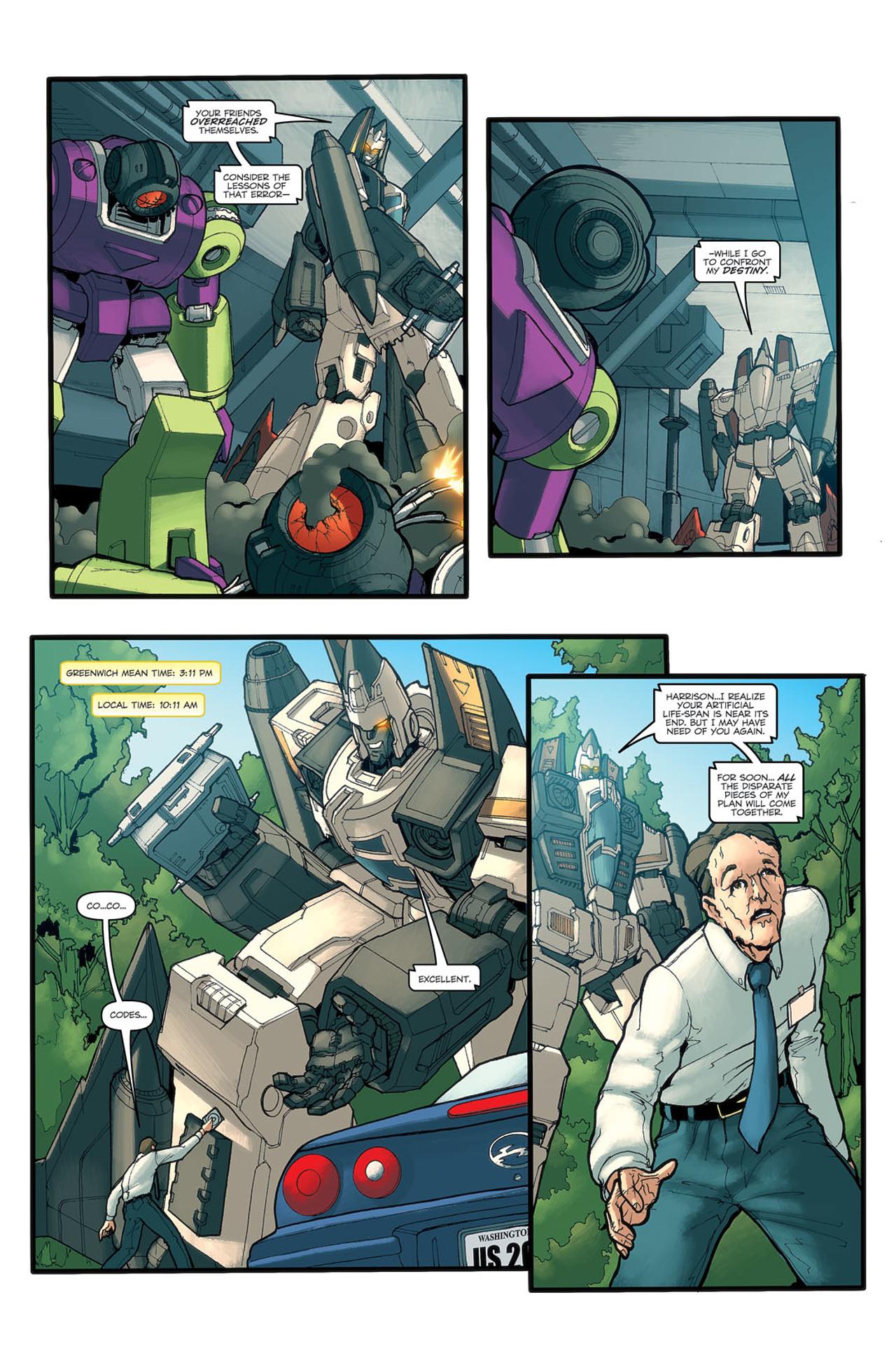 Read online Transformers Spotlight: Ramjet comic -  Issue # Full - 18