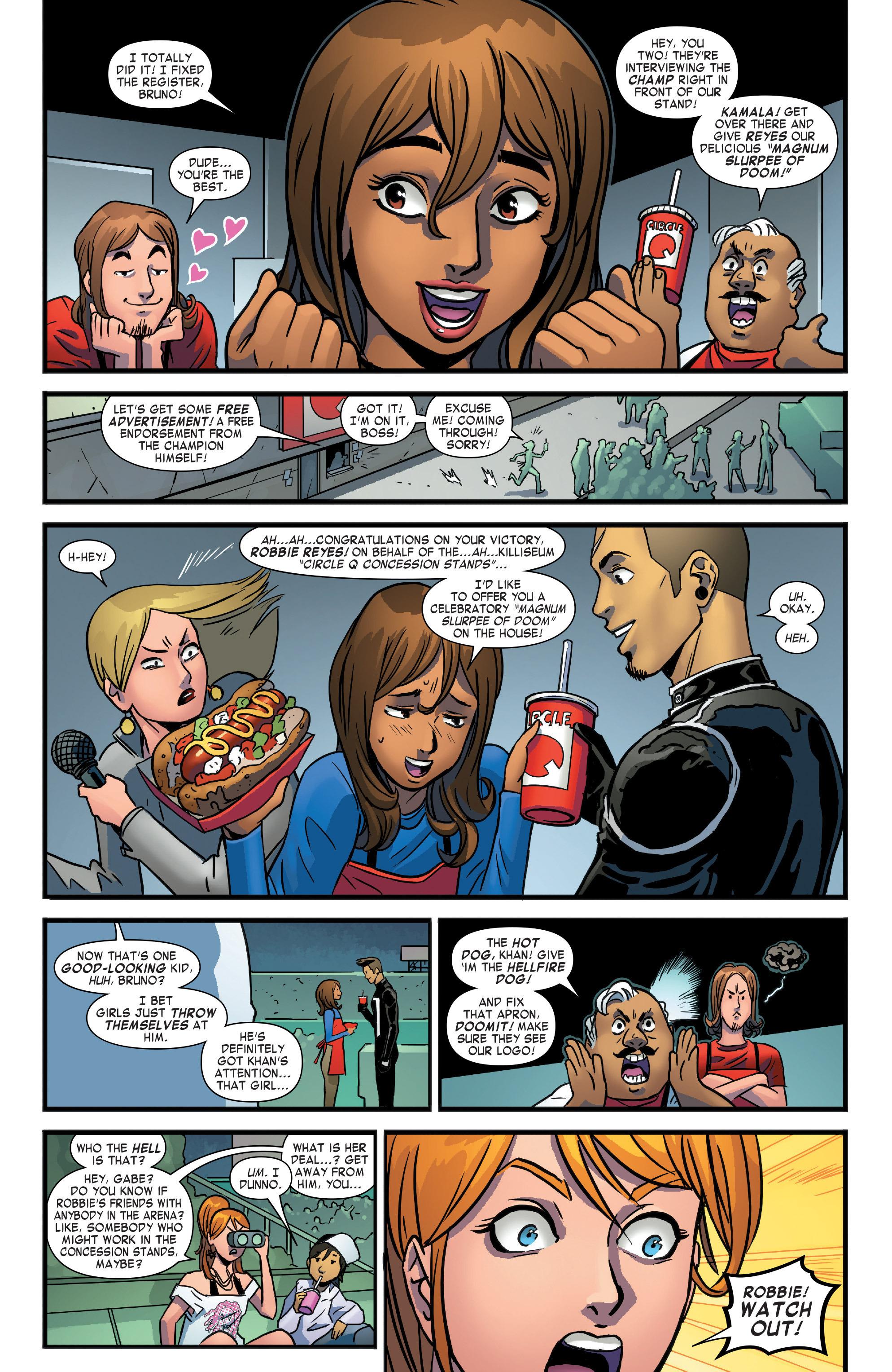 Read online Secret Wars: Secret Love comic -  Issue # Full - 12