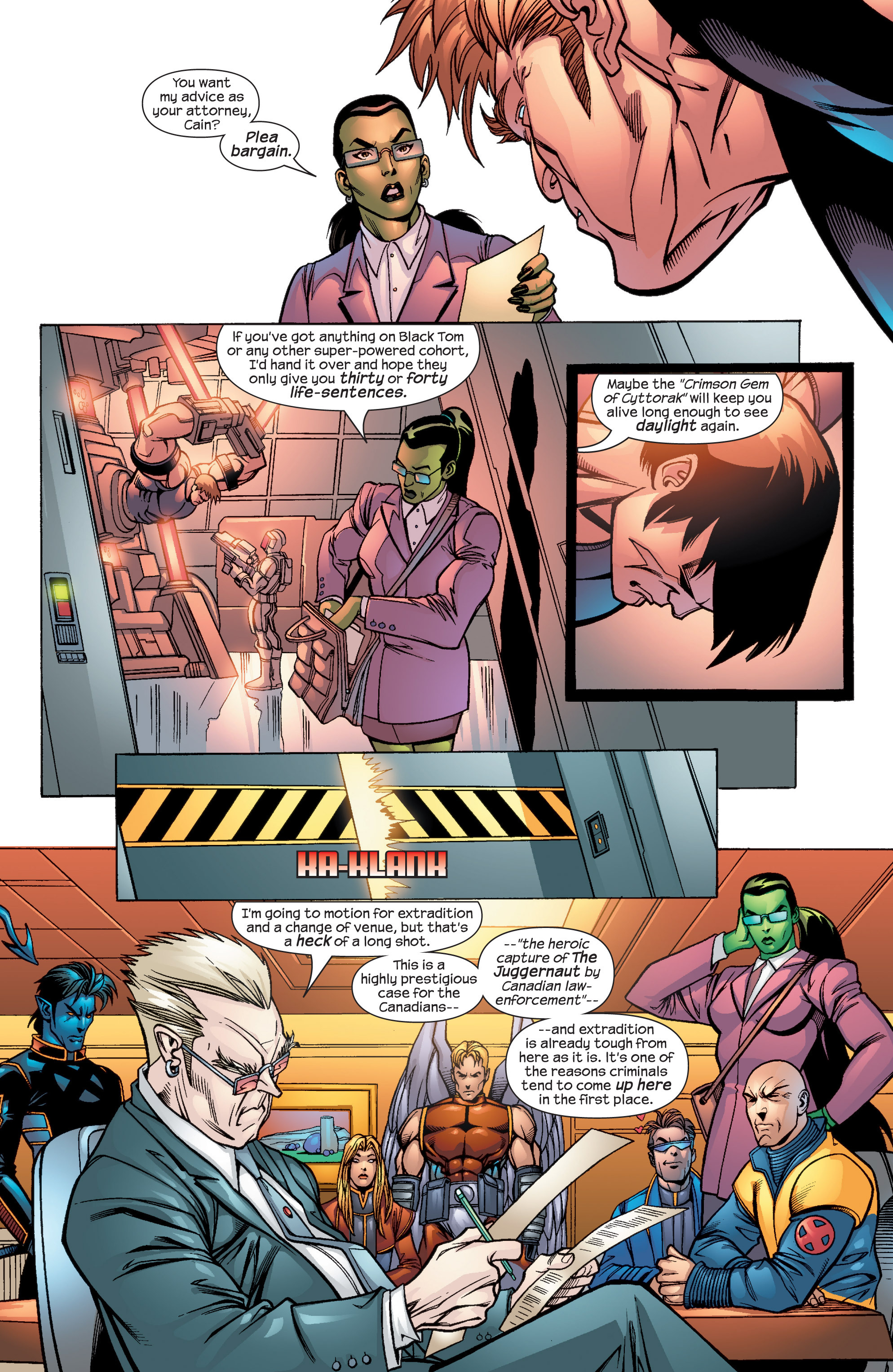 Read online Uncanny X-Men (1963) comic -  Issue #435 - 5