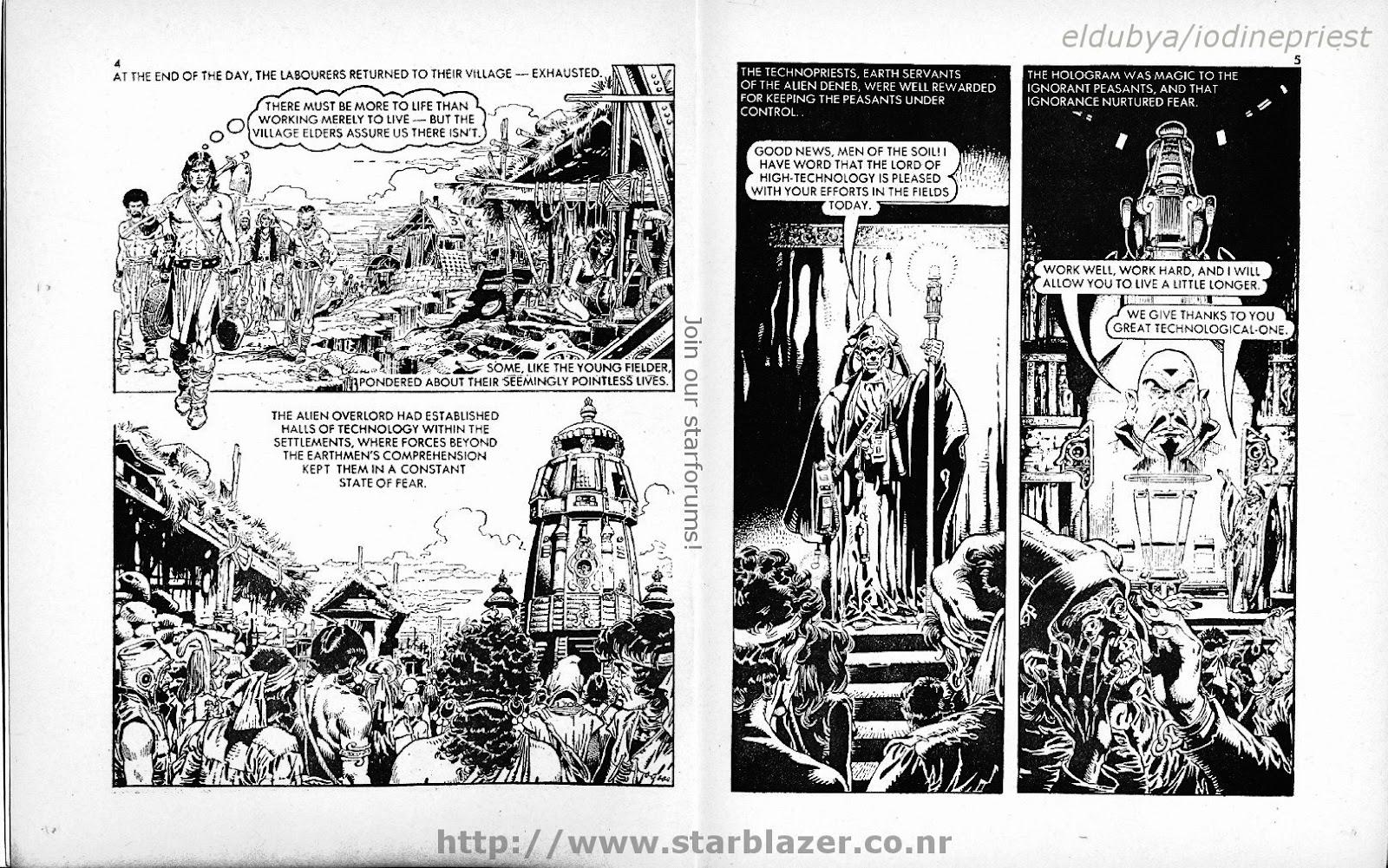 Starblazer issue 118 - Page 4