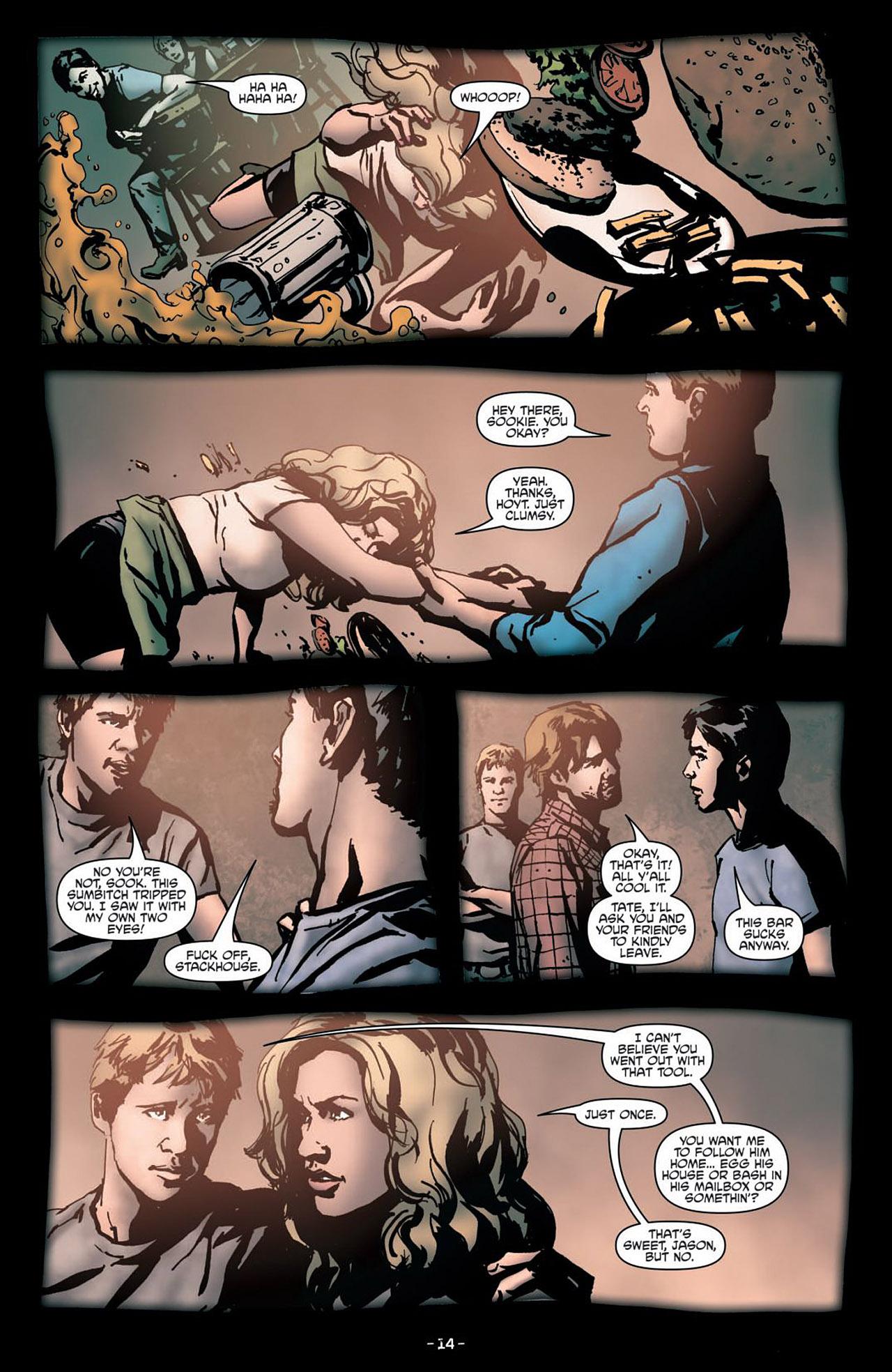 Read online True Blood (2012) comic -  Issue #1 - 17