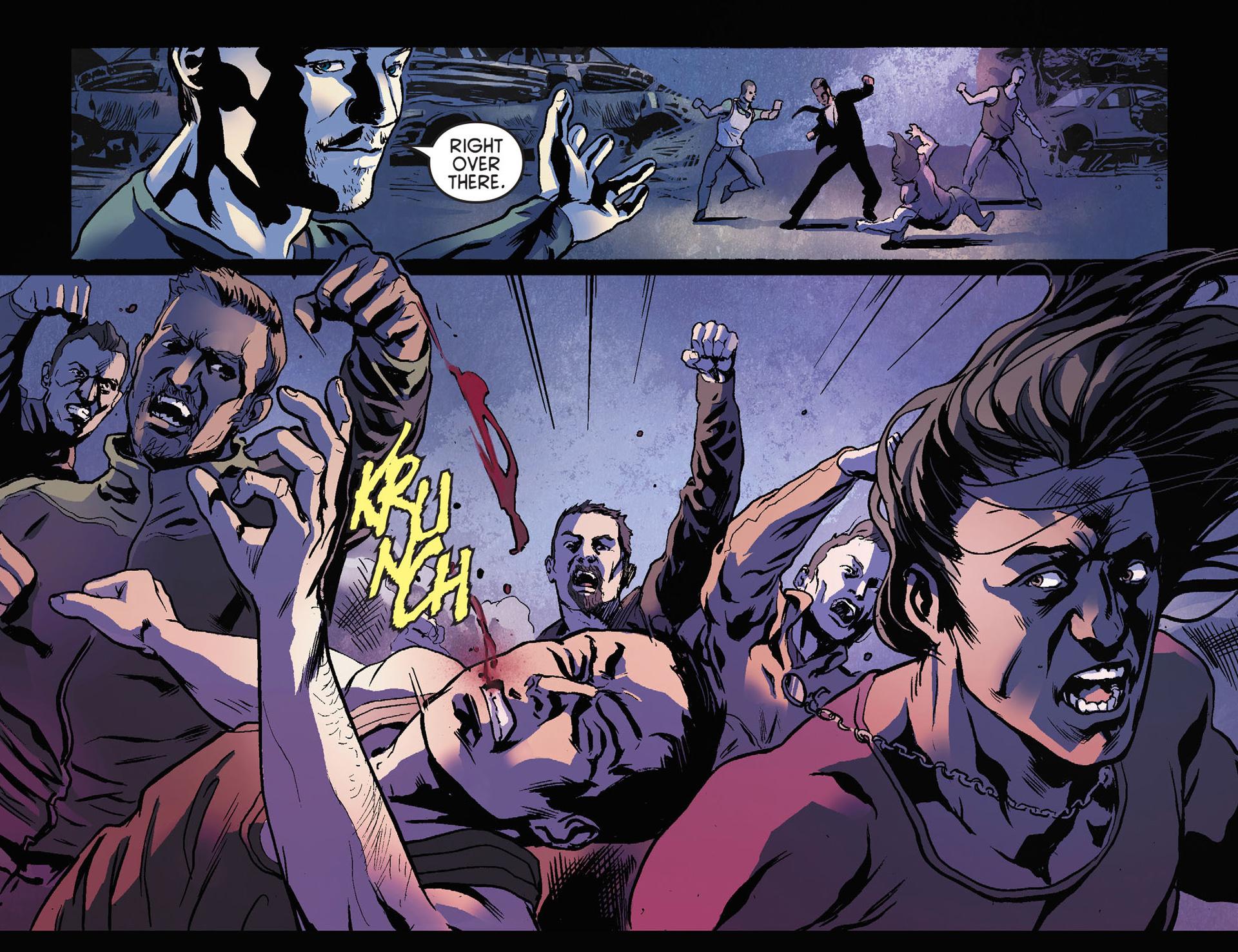 Read online Arrow [II] comic -  Issue #21 - 21