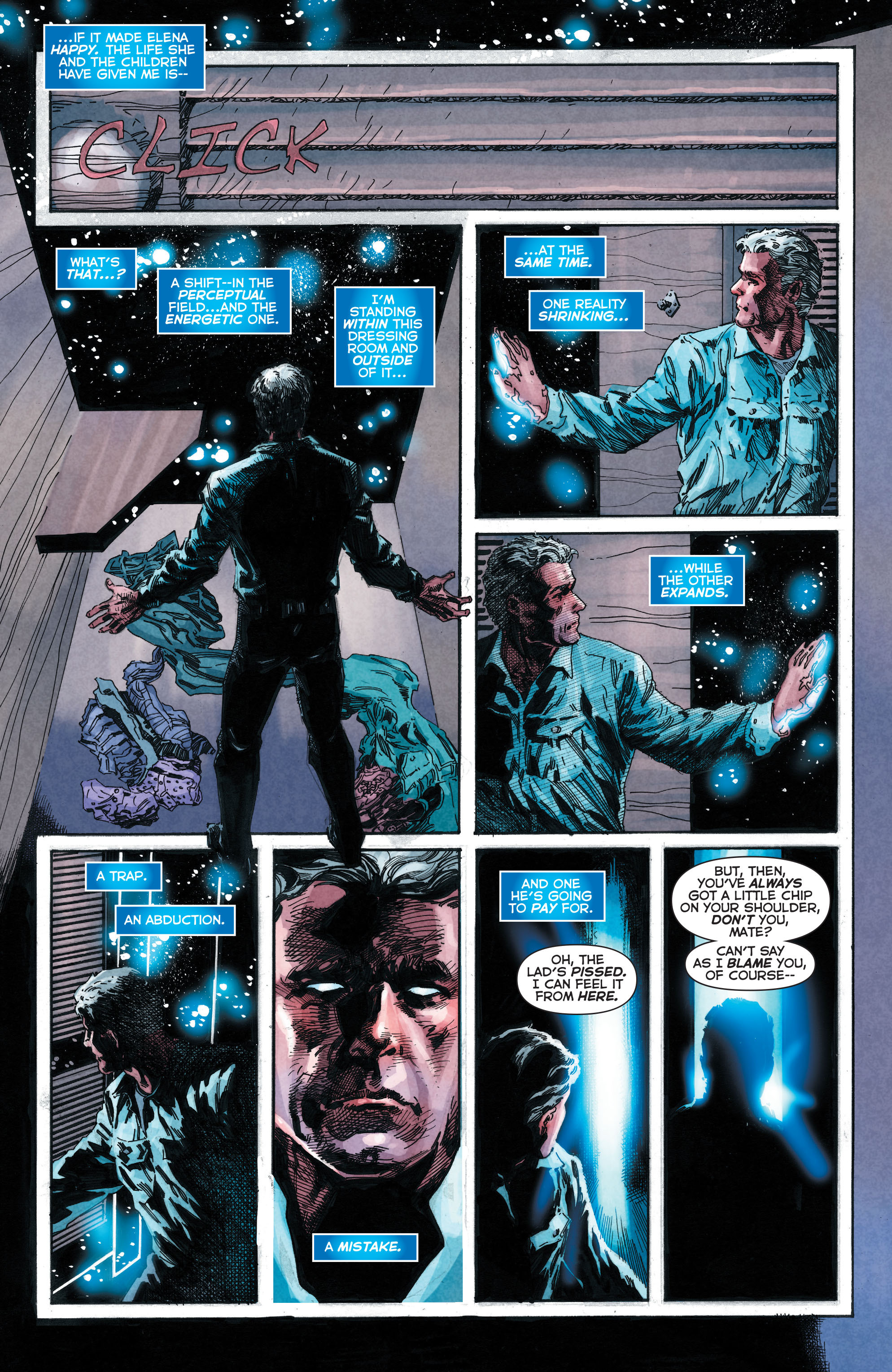 Read online Trinity of Sin: The Phantom Stranger comic -  Issue #4 - 7