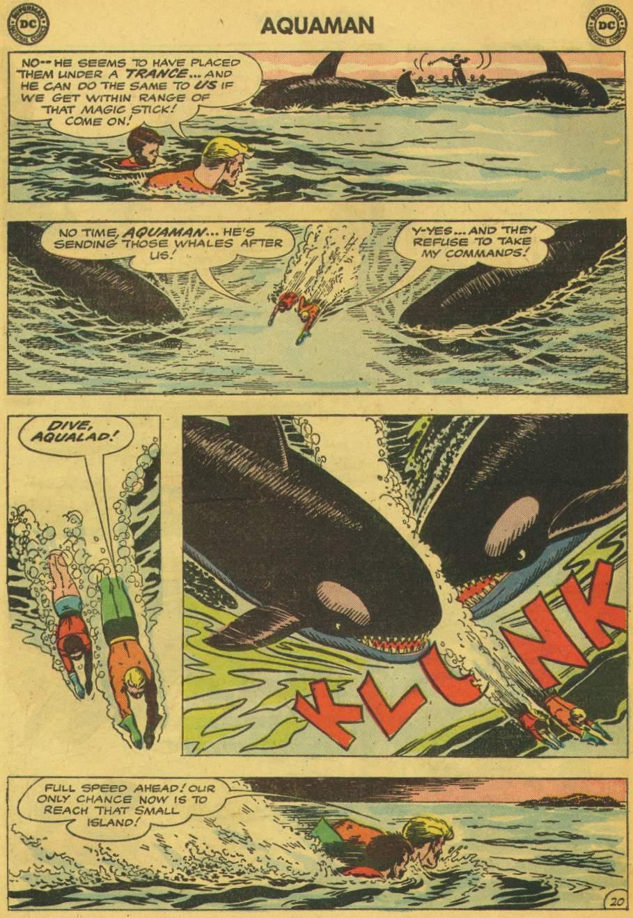 Read online Aquaman (1962) comic -  Issue #5 - 26