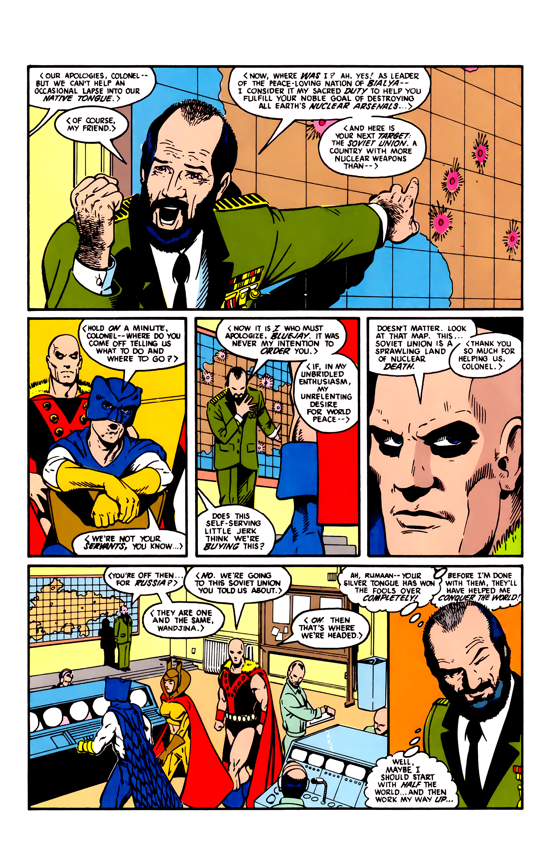 Read online Justice League (1987) comic -  Issue #3 - 4