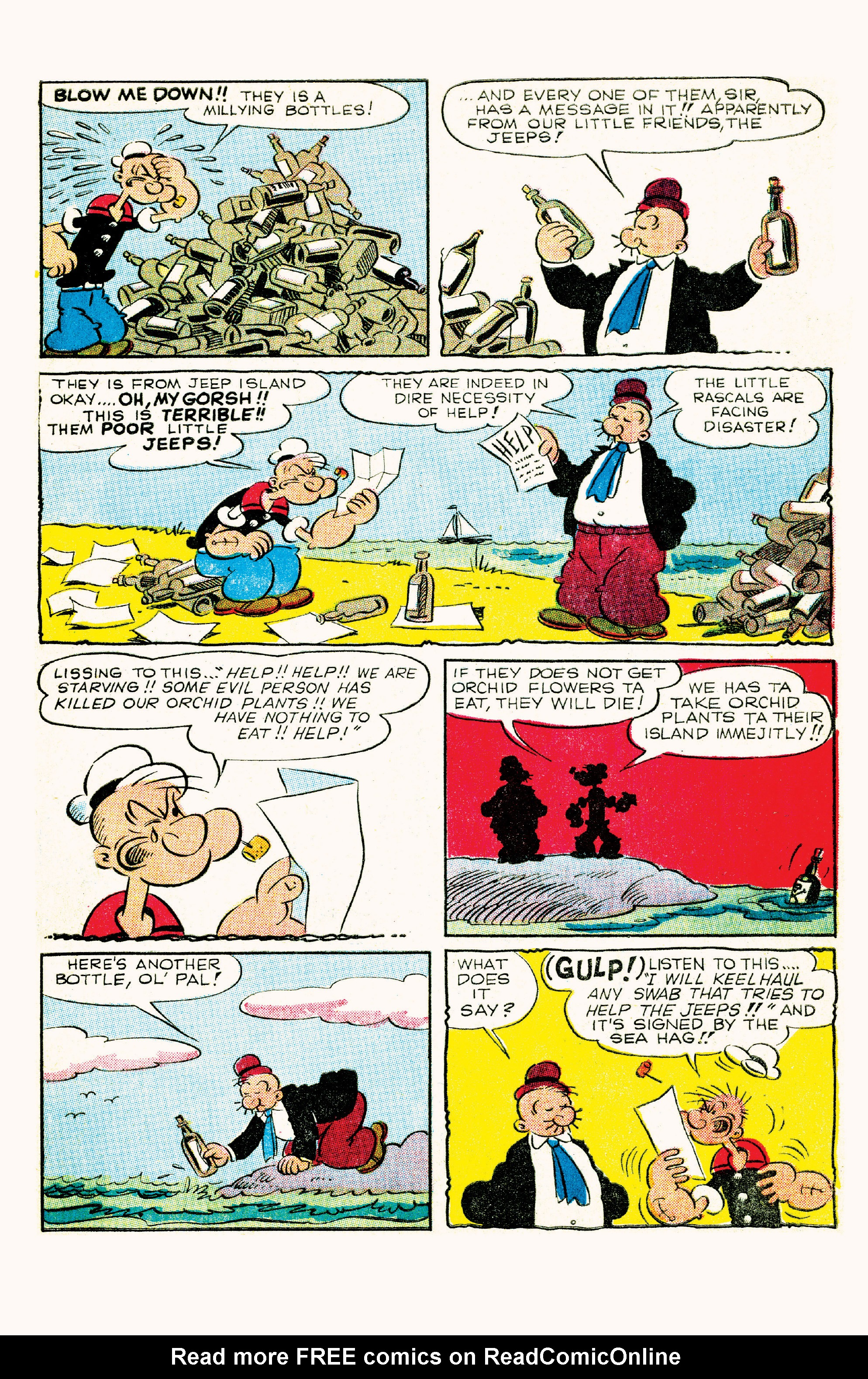 Read online Classic Popeye comic -  Issue #57 - 5