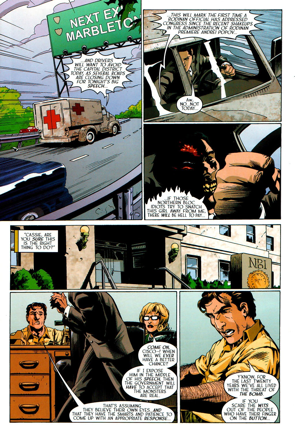 Read online Route 666 comic -  Issue #19 - 9
