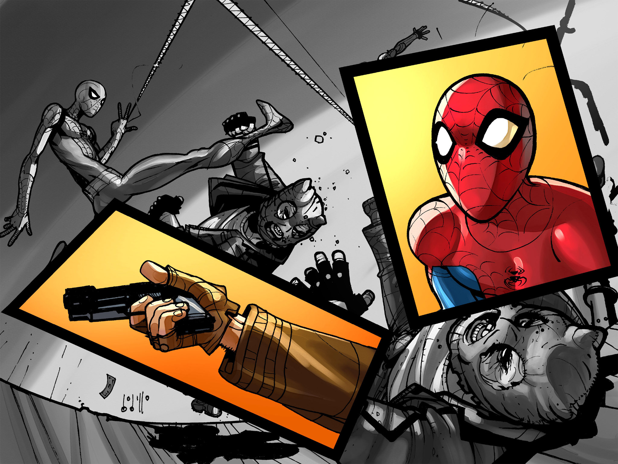 Read online Amazing Spider-Man: Who Am I? comic -  Issue # Full (Part 1) - 108