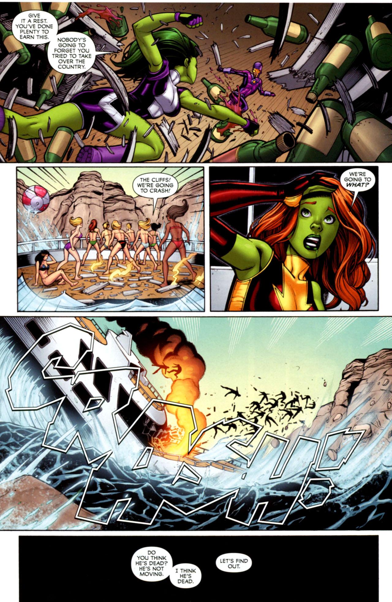 Read online She-Hulks comic -  Issue #1 - 22