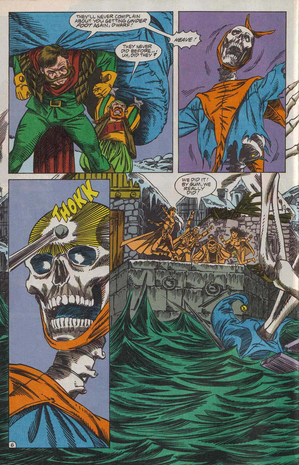 Read online Advanced Dungeons & Dragons comic -  Issue #7 - 7