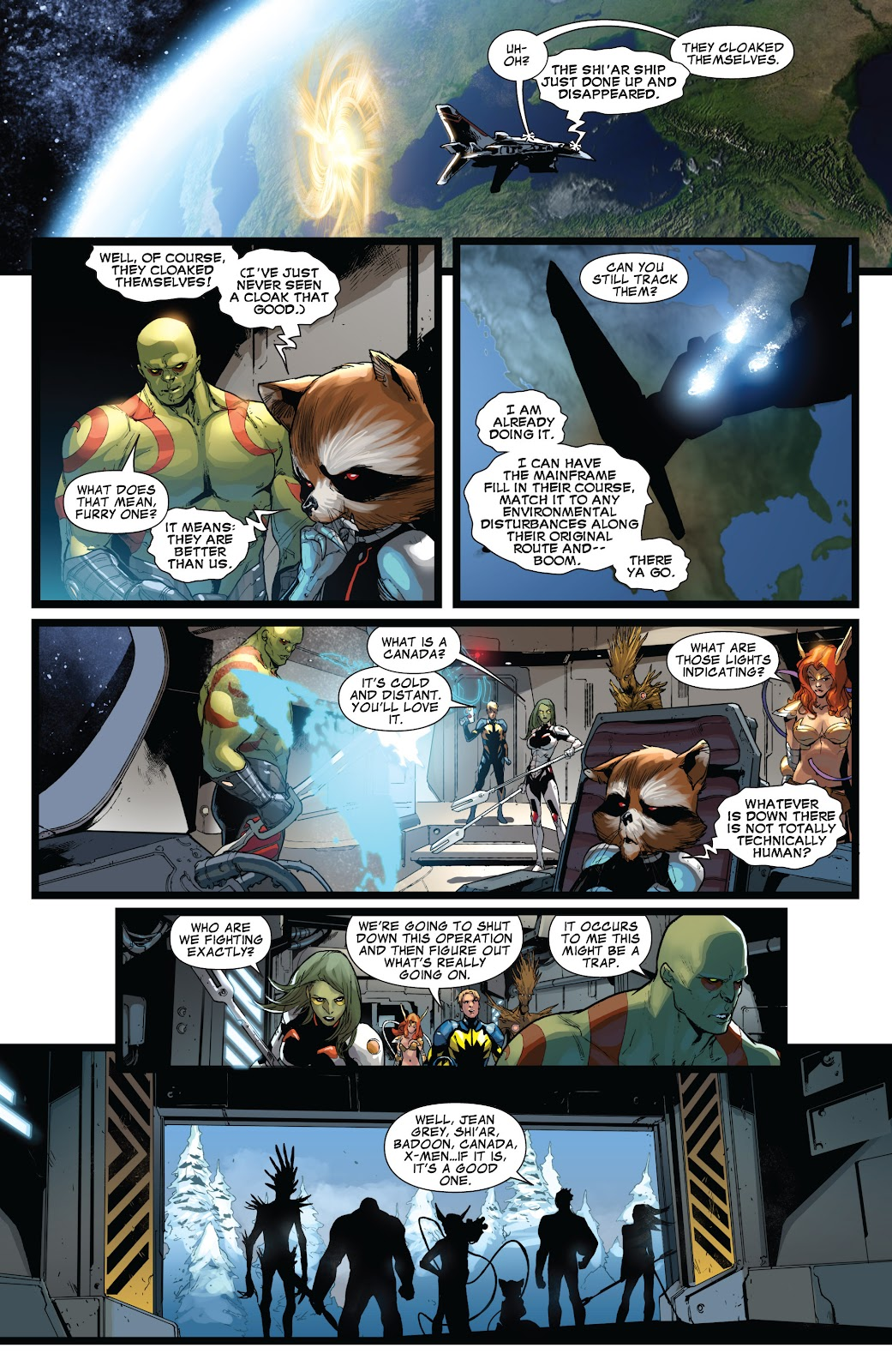 Guardians of the Galaxy/All-New X-Men: The Trial of Jean Grey issue TPB - Page 39