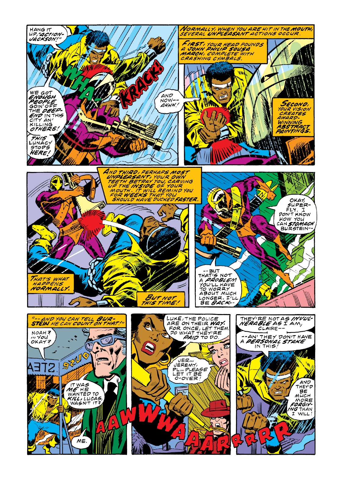Read online Marvel Masterworks: Luke Cage, Power Man comic -  Issue # TPB 3 (Part 1) - 33