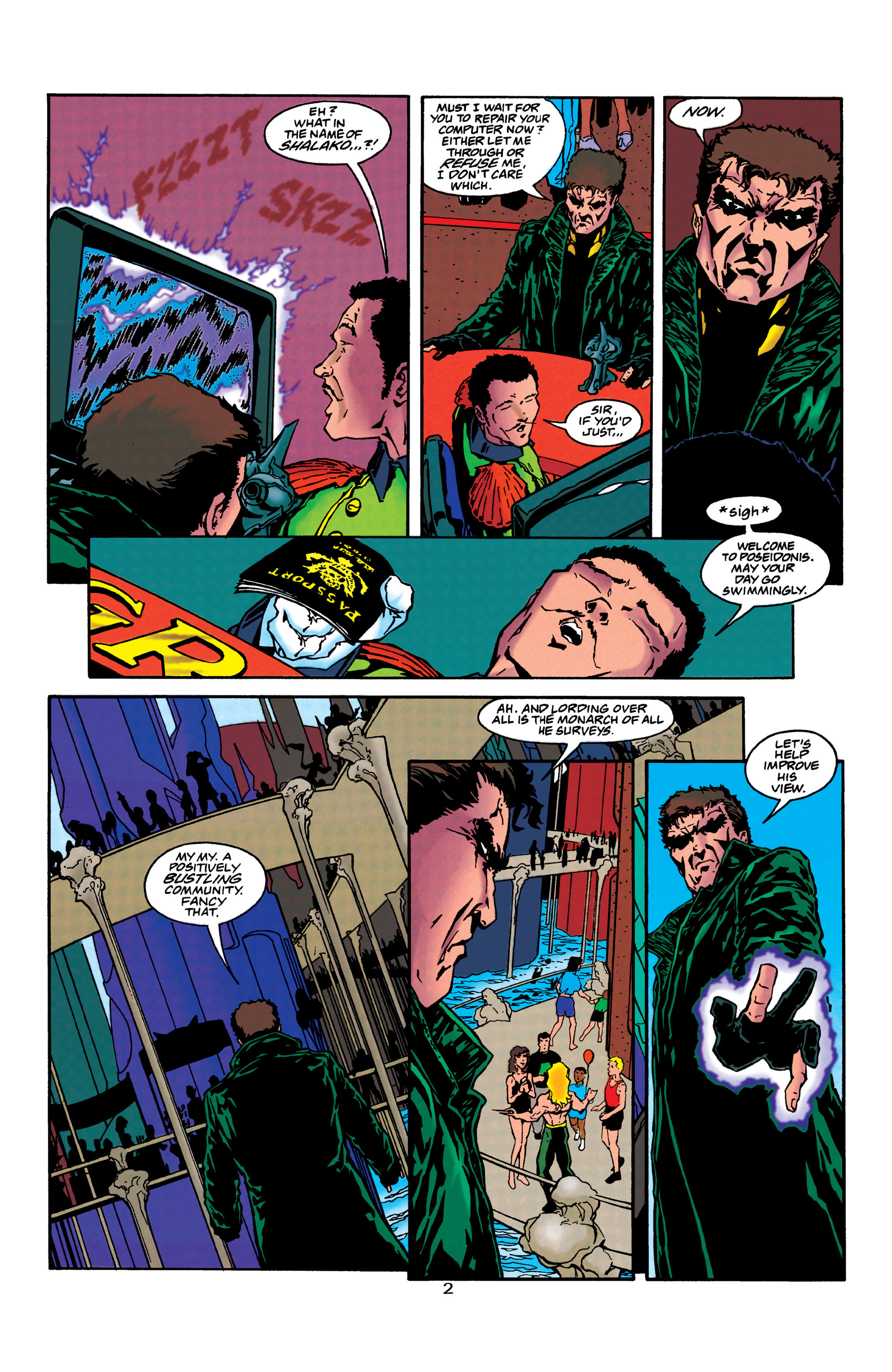 Read online Aquaman (1994) comic -  Issue #40 - 3