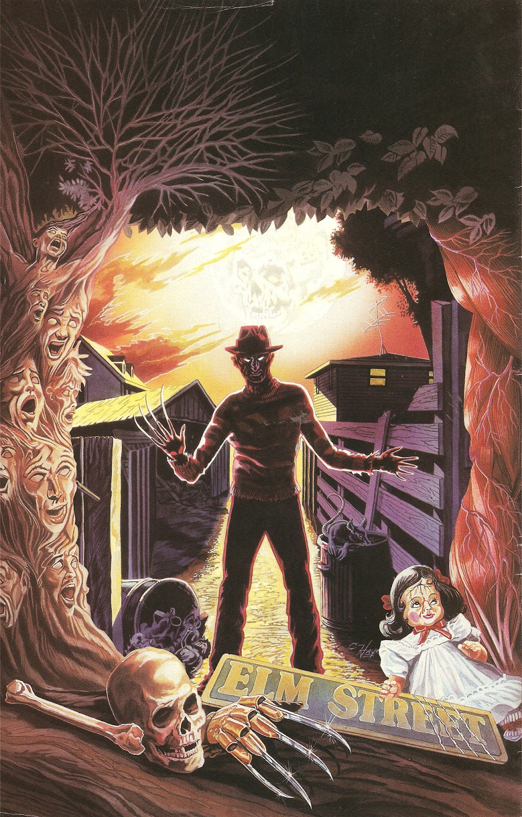Read online A Nightmare on Elm Street: The Beginning comic -  Issue #1 - 27