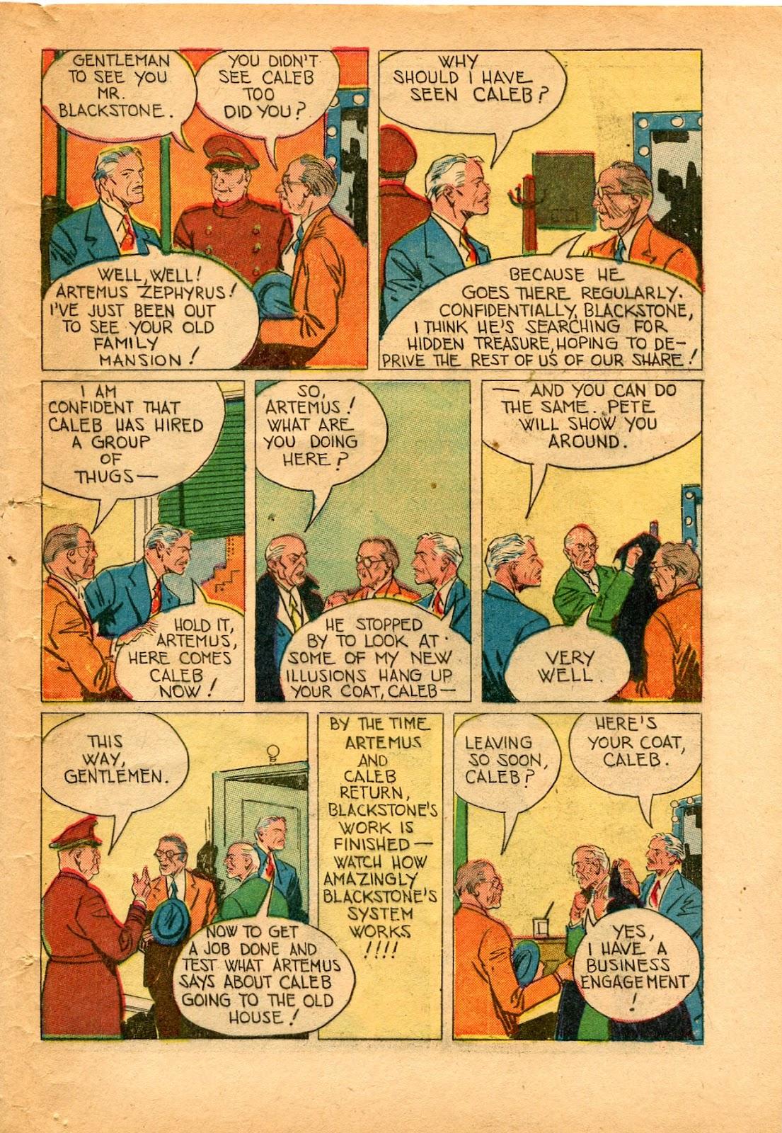 Read online Super-Magician Comics comic -  Issue #33 - 43