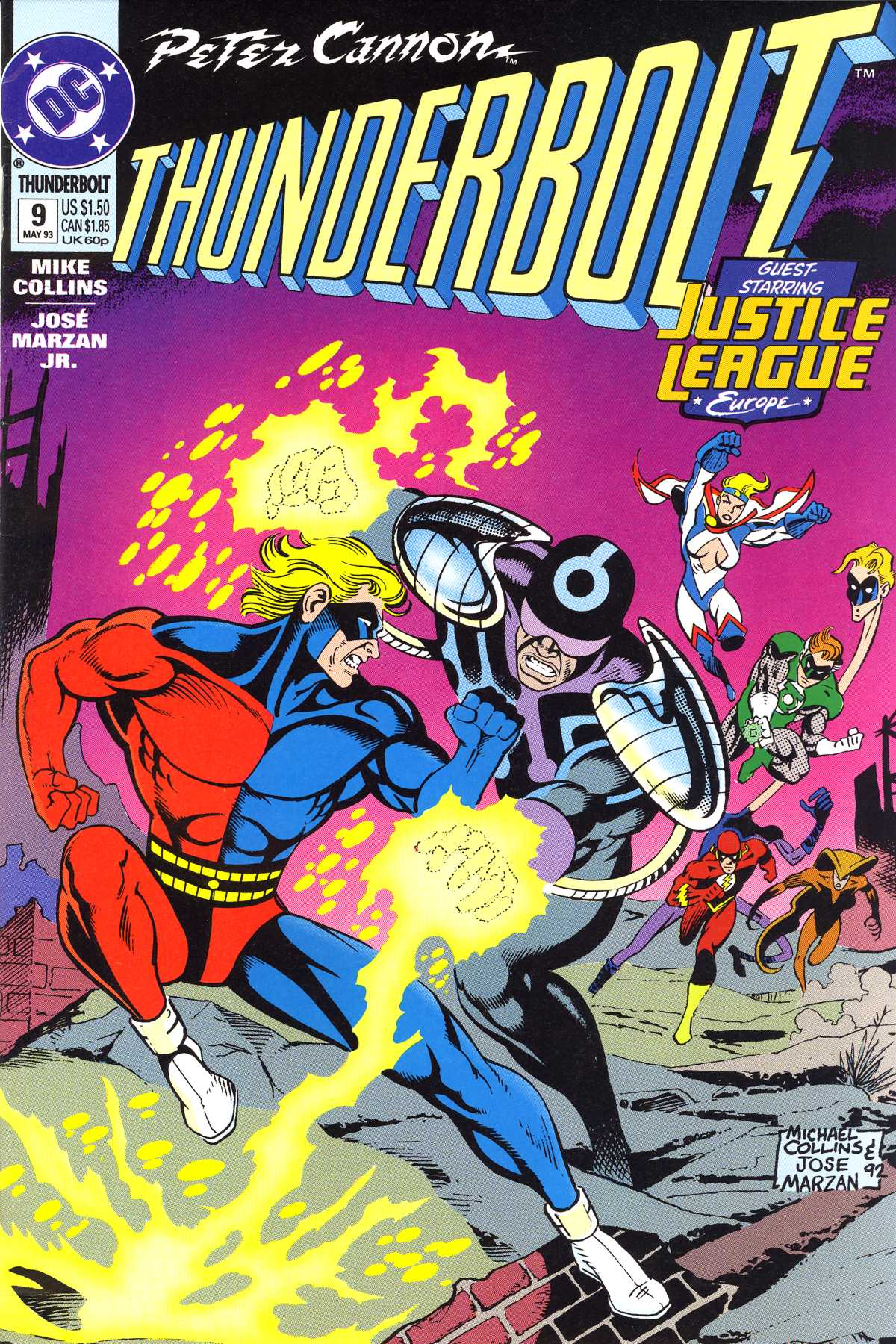 Read online Peter Cannon--Thunderbolt (1992) comic -  Issue #9 - 1