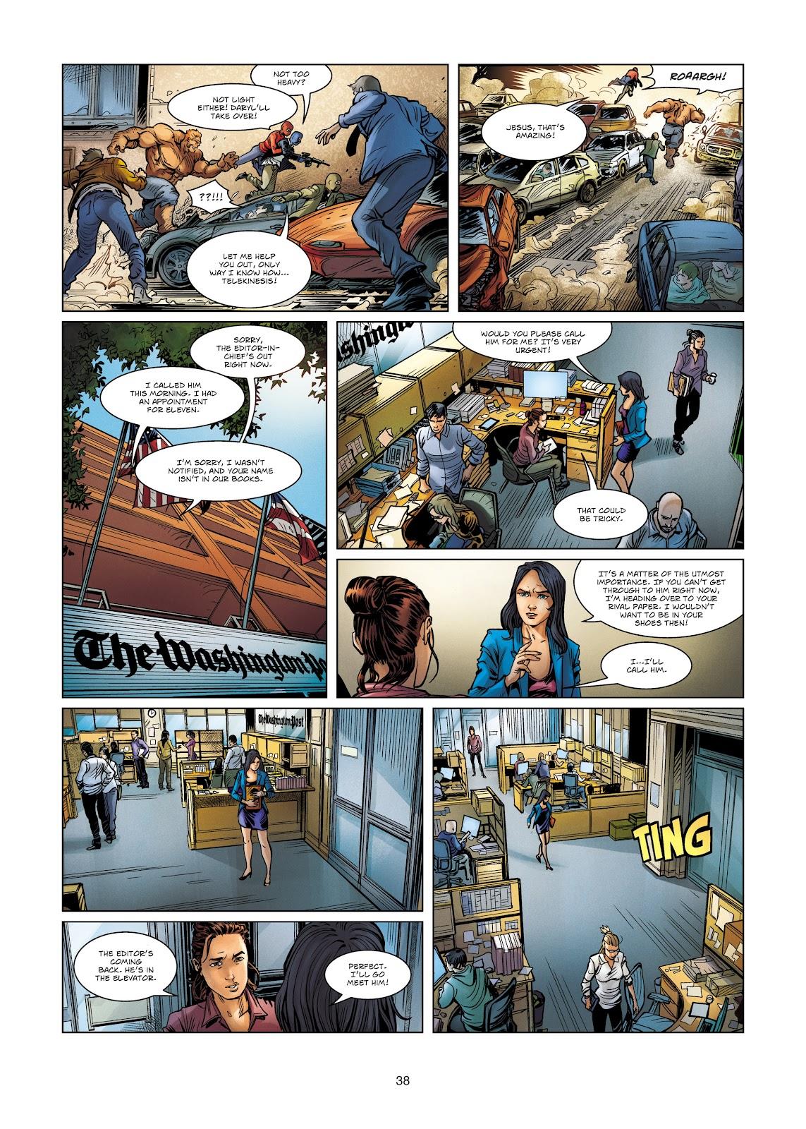 Read online Vigilantes comic -  Issue #4 - 38