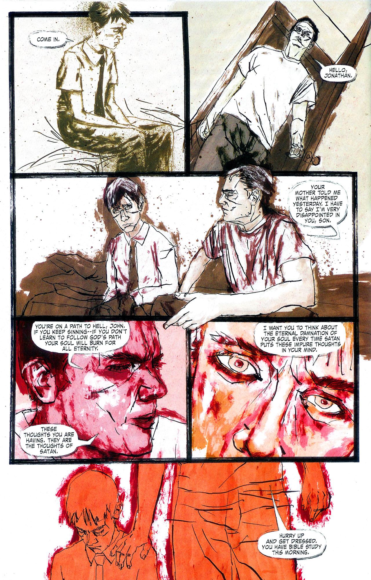 Read online Se7en comic -  Issue #4 - 19