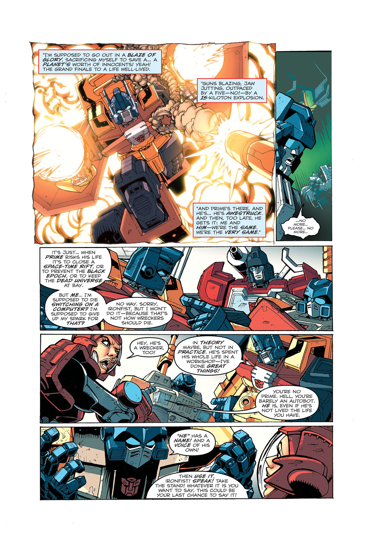 Read online Transformers: Last Stand of The Wreckers comic -  Issue #4 - 17