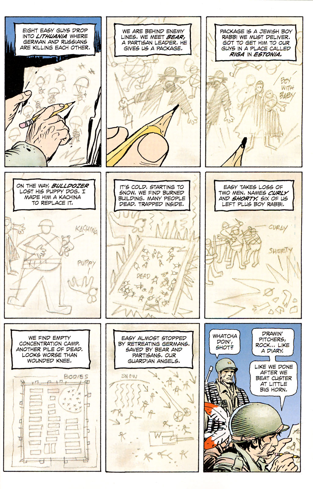 Read online Sgt. Rock: The Prophecy comic -  Issue #5 - 2