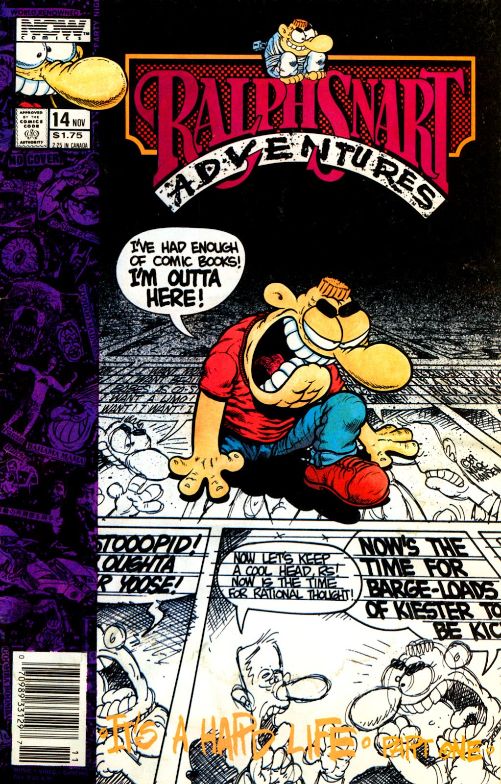 Ralph Snart Adventures (1988) issue 14 - Page 1