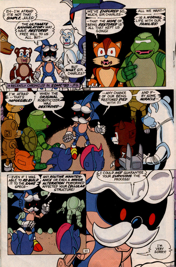 Read online Sonic Super Special comic -  Issue #2 - Brave new world - 20