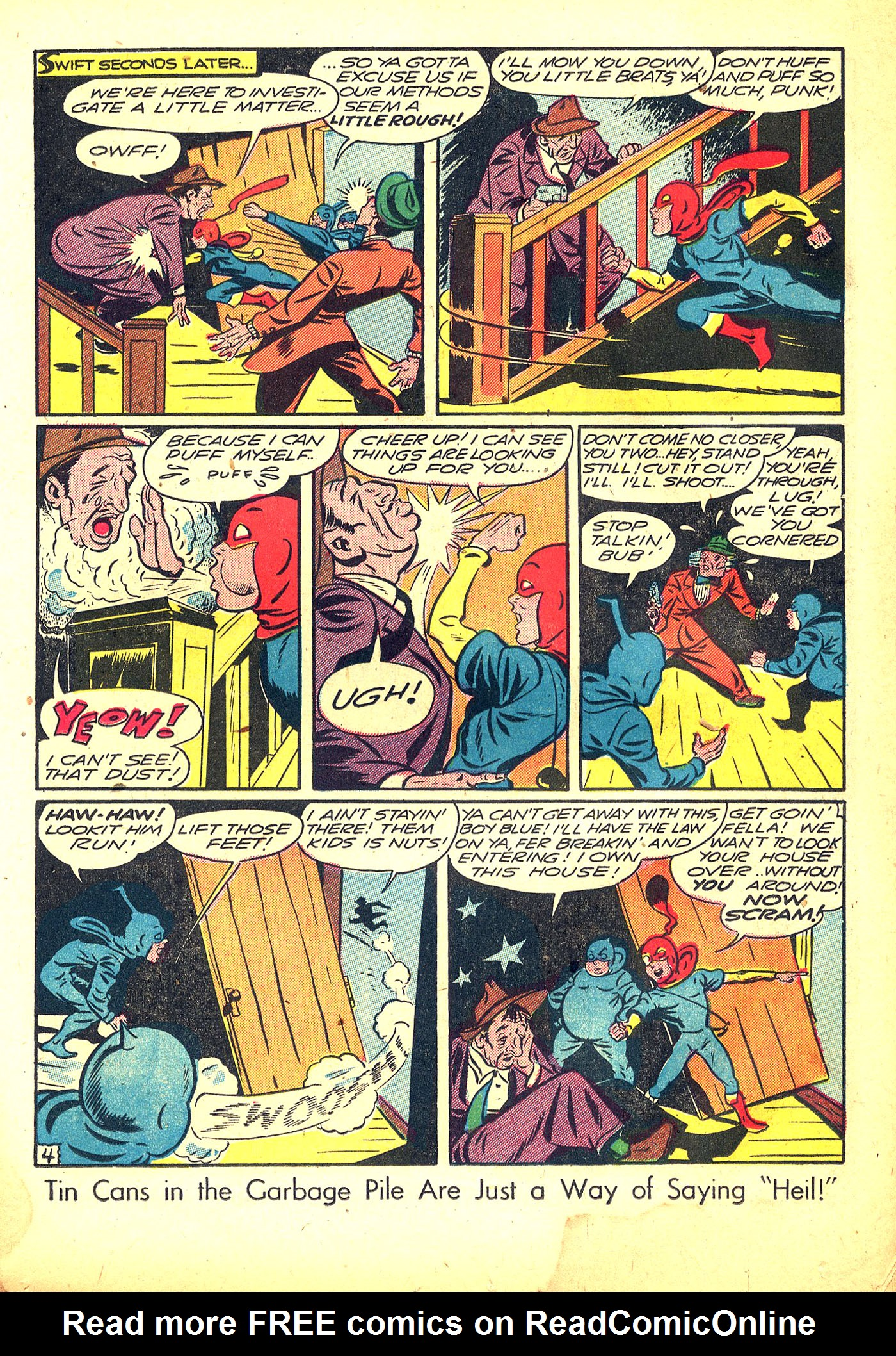 Read online Sensation (Mystery) Comics comic -  Issue #31 - 29
