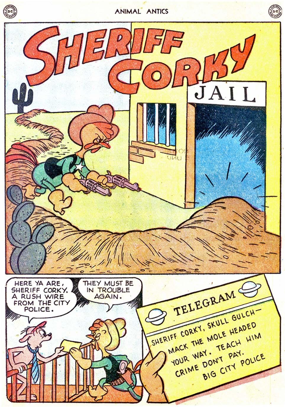 Read online Animal Antics comic -  Issue #11 - 16