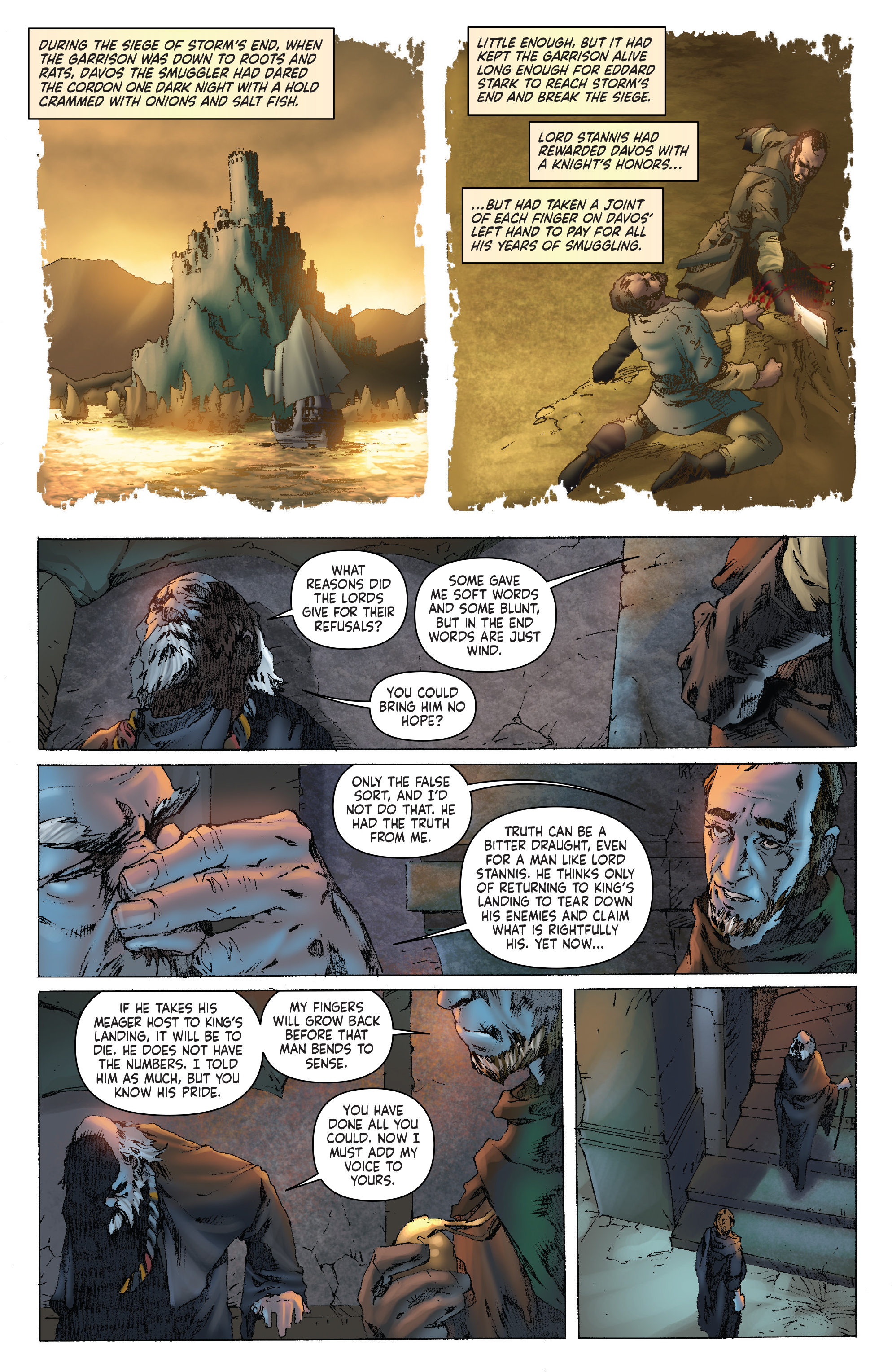 Read online A Clash of Kings comic -  Issue #1 - 14