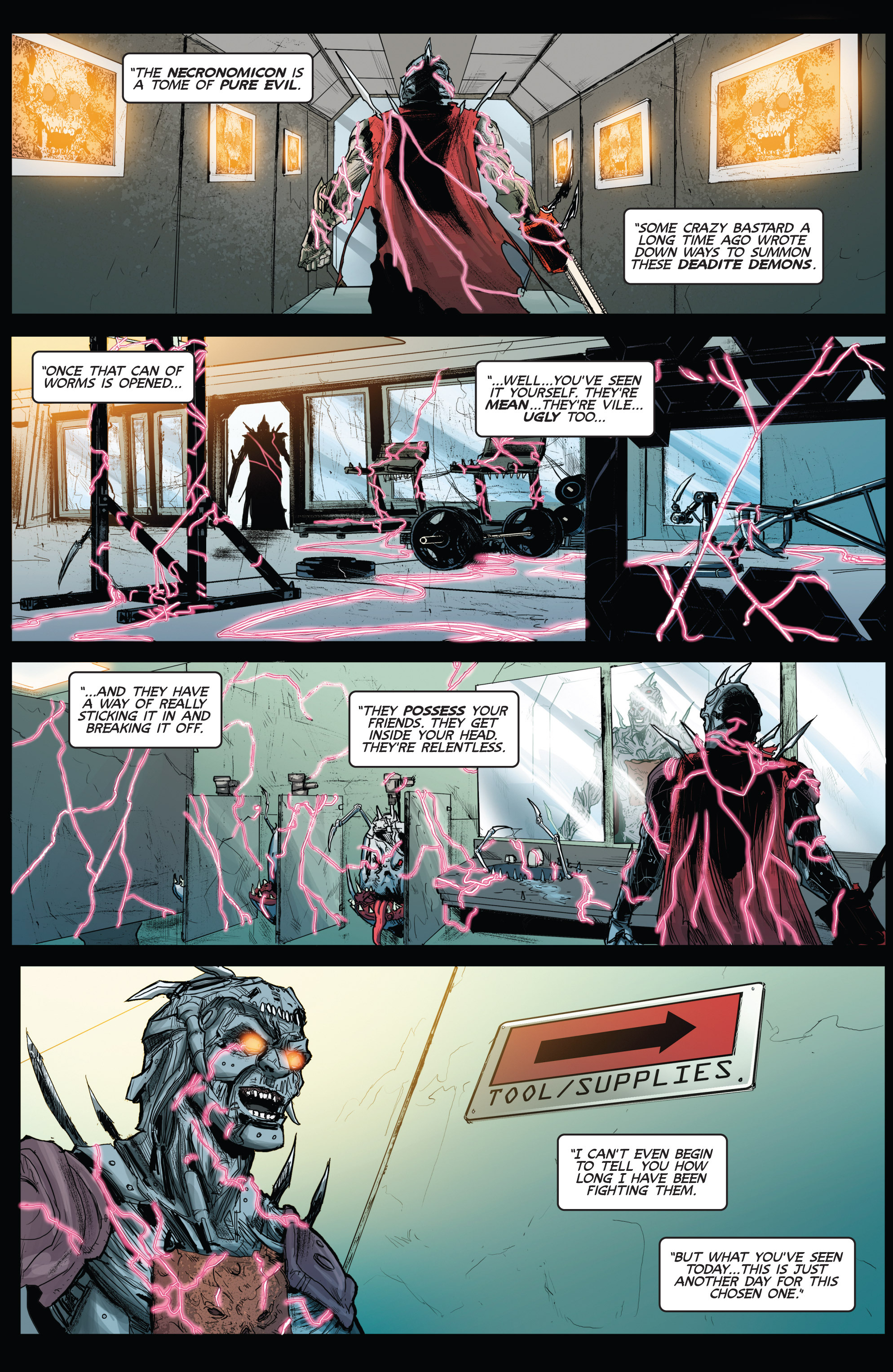 Read online Army of Darkness (2014) comic -  Issue #3 - 12