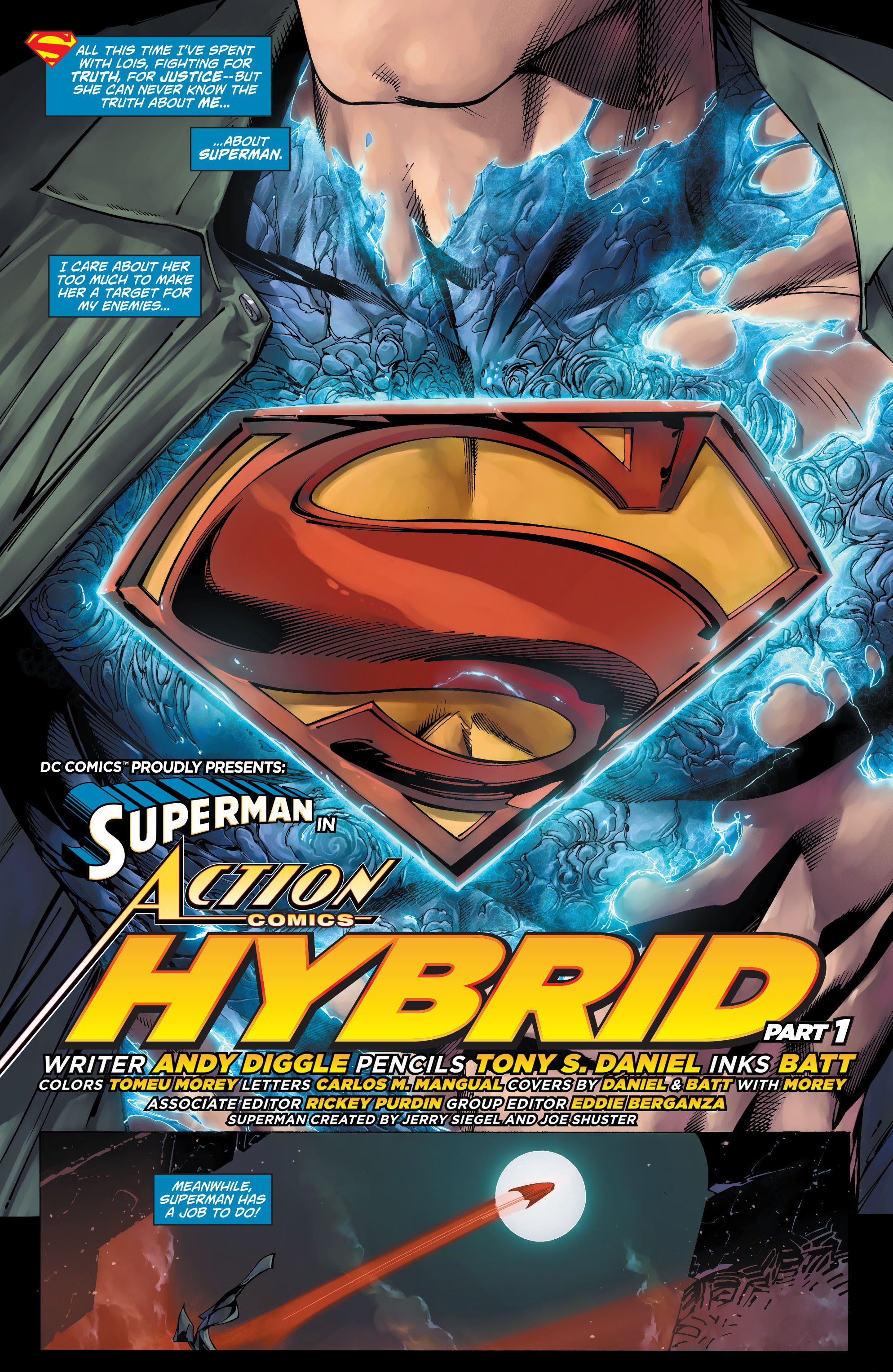 Read online Action Comics (2011) comic -  Issue #19 - 7