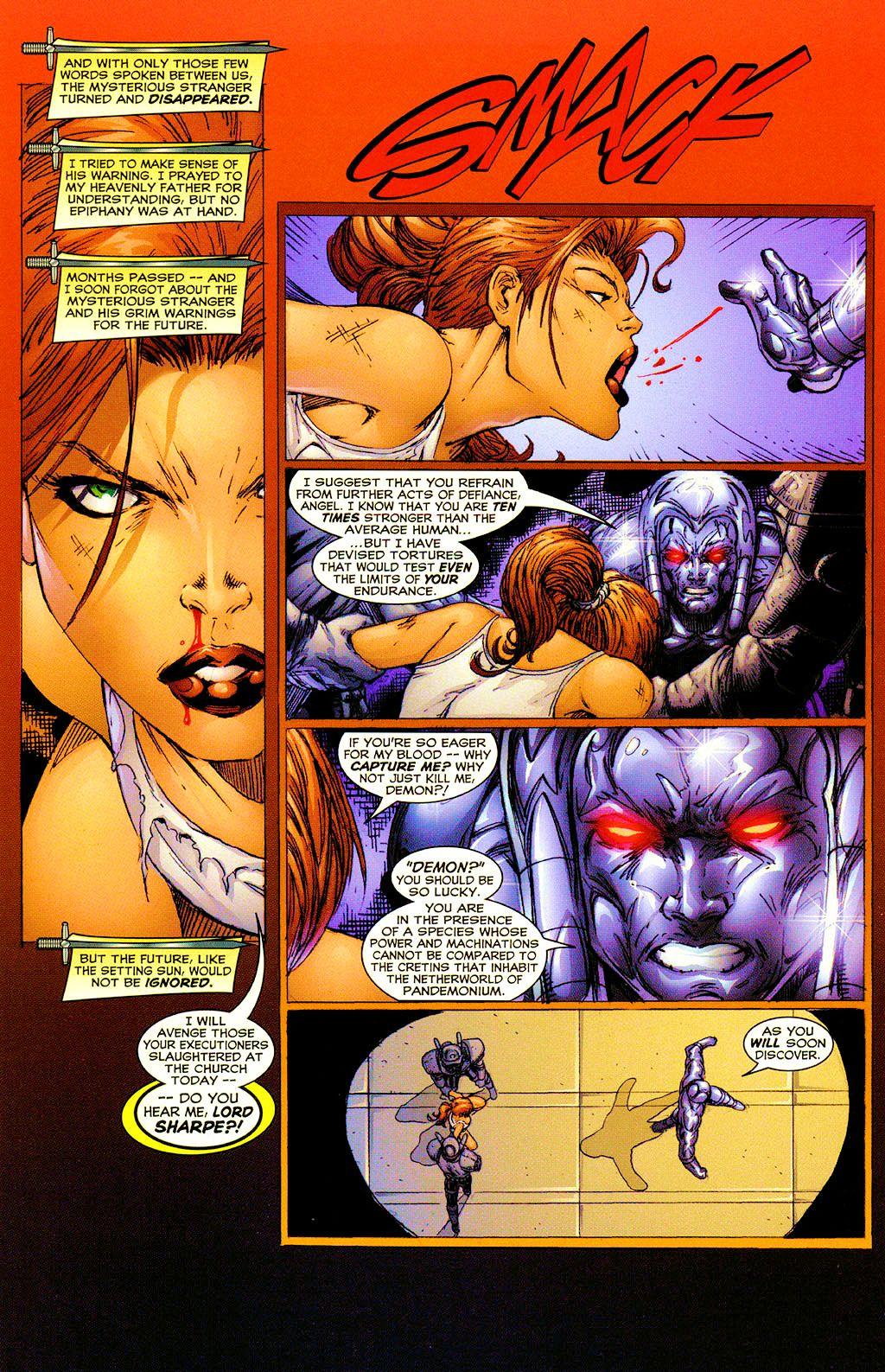 Read online Avengelyne (1999) comic -  Issue #Avengelyne (1999) Full - 9