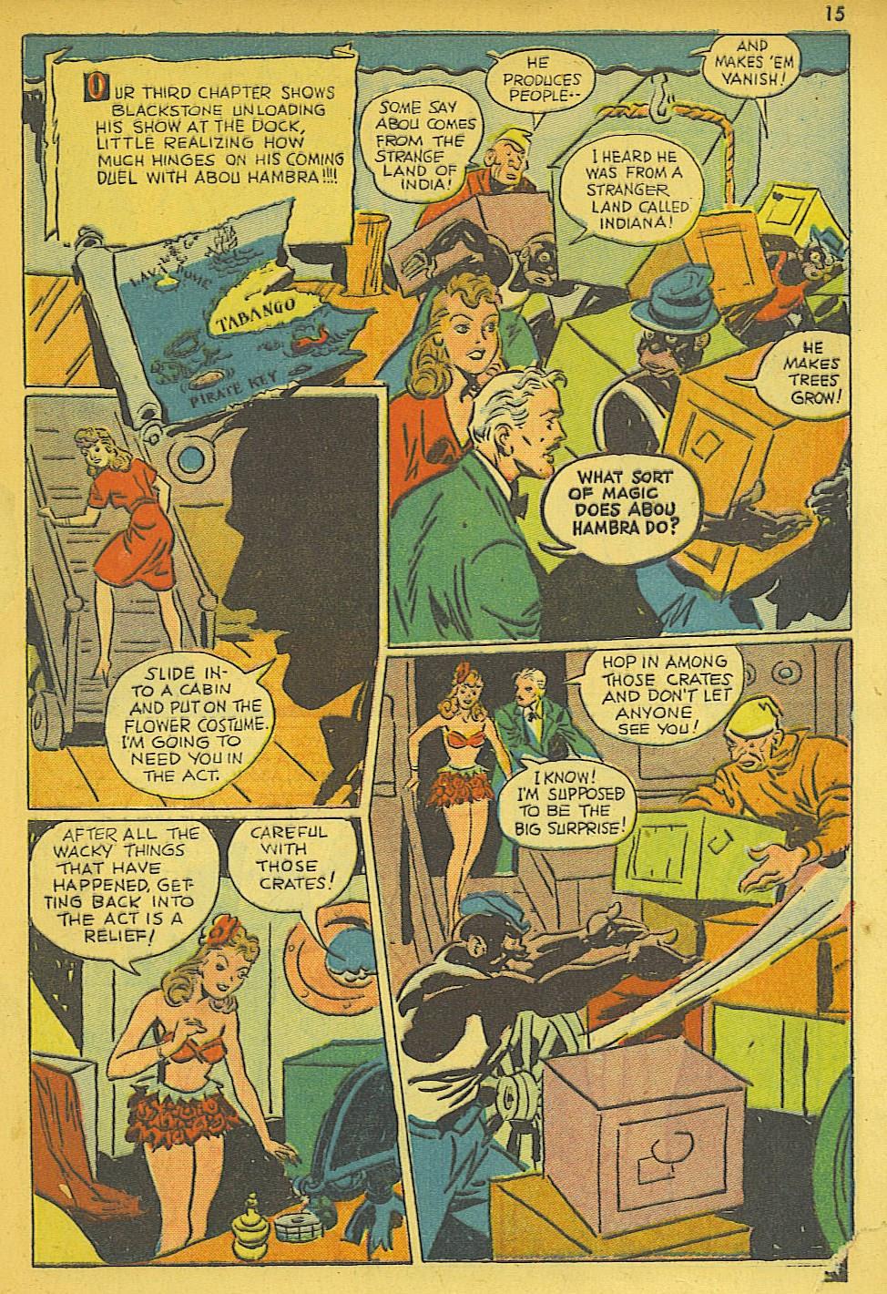 Read online Super-Magician Comics comic -  Issue #19 - 15
