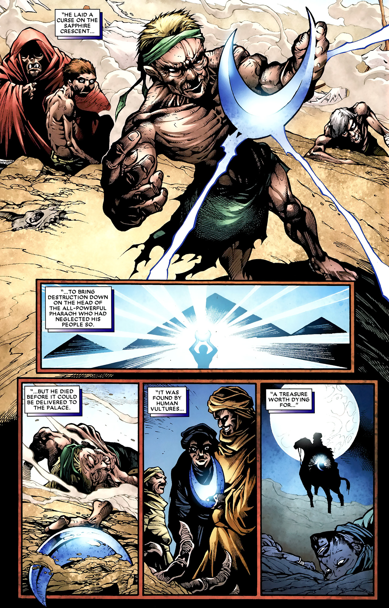 Read online Shadowland: Moon Knight comic -  Issue #2 - 13