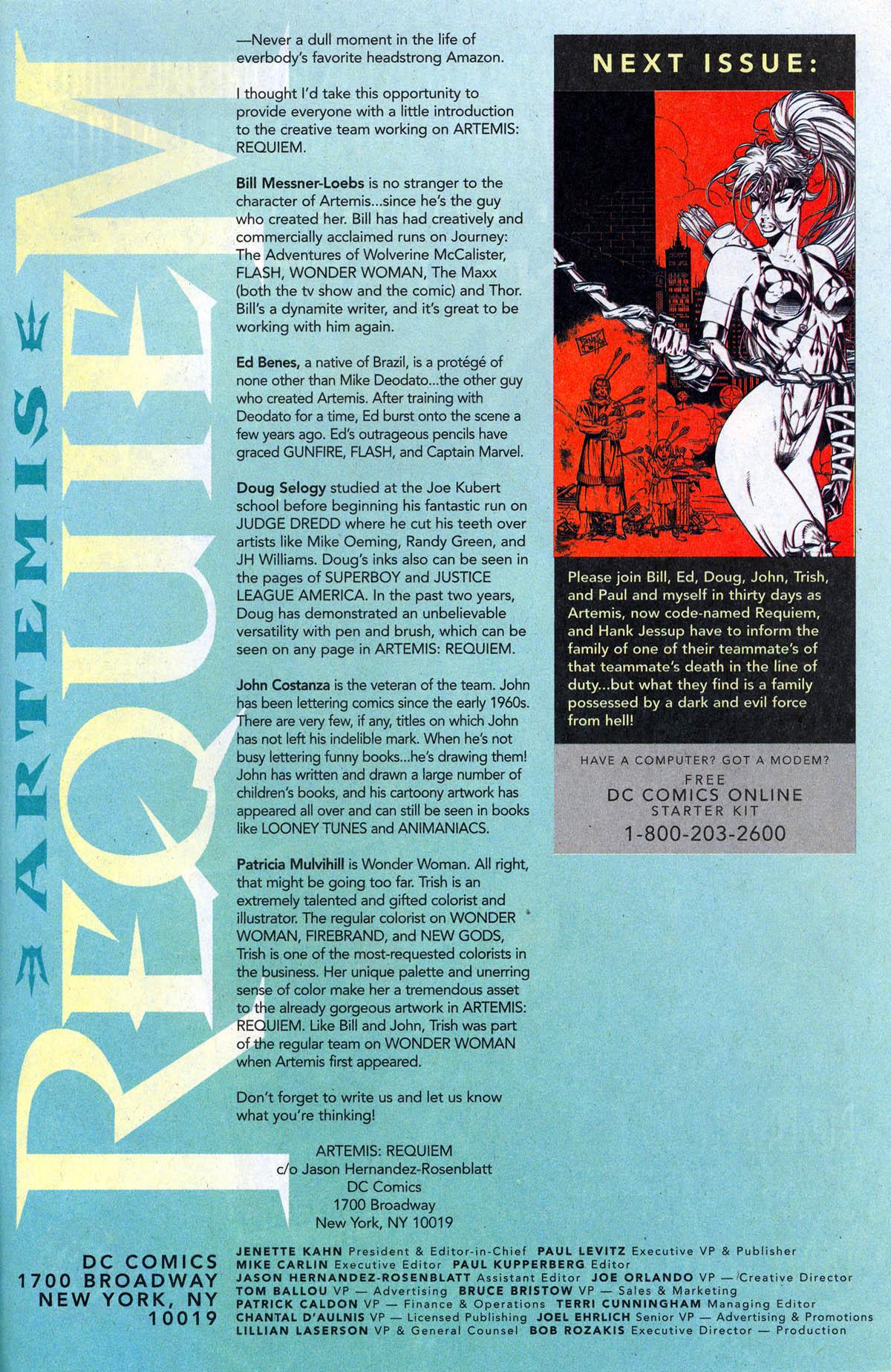 Read online Artemis: Requiem comic -  Issue #2 - 32