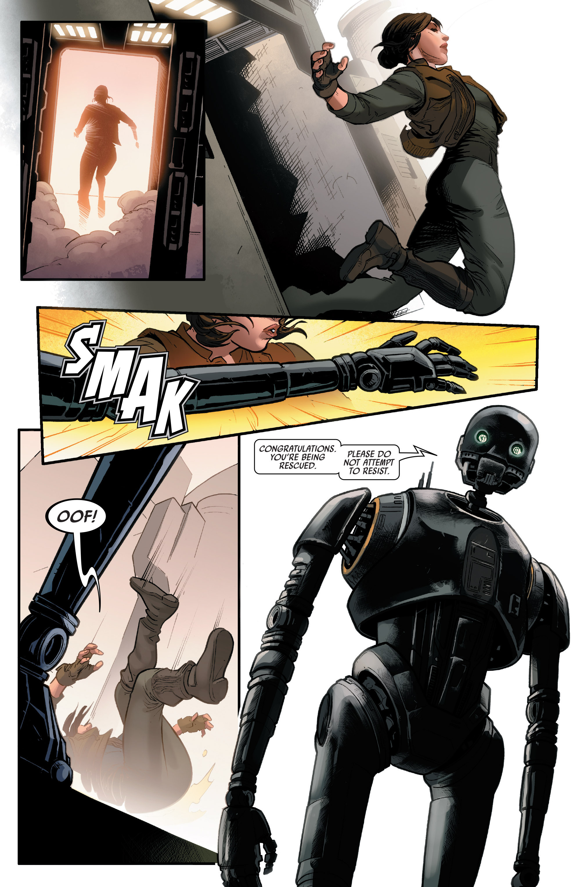 Read online Star Wars: Rogue One Adaptation comic -  Issue #1 - 19